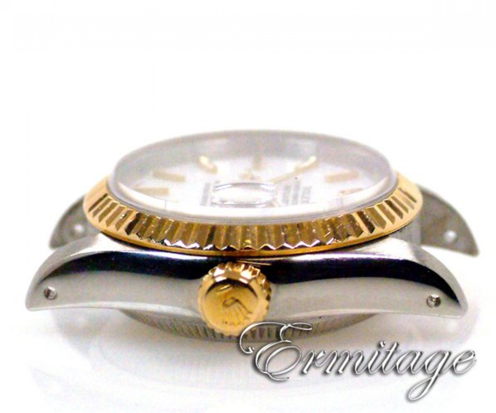 Rolex Datejust 69173 Gold & Steel White Pre-Owned