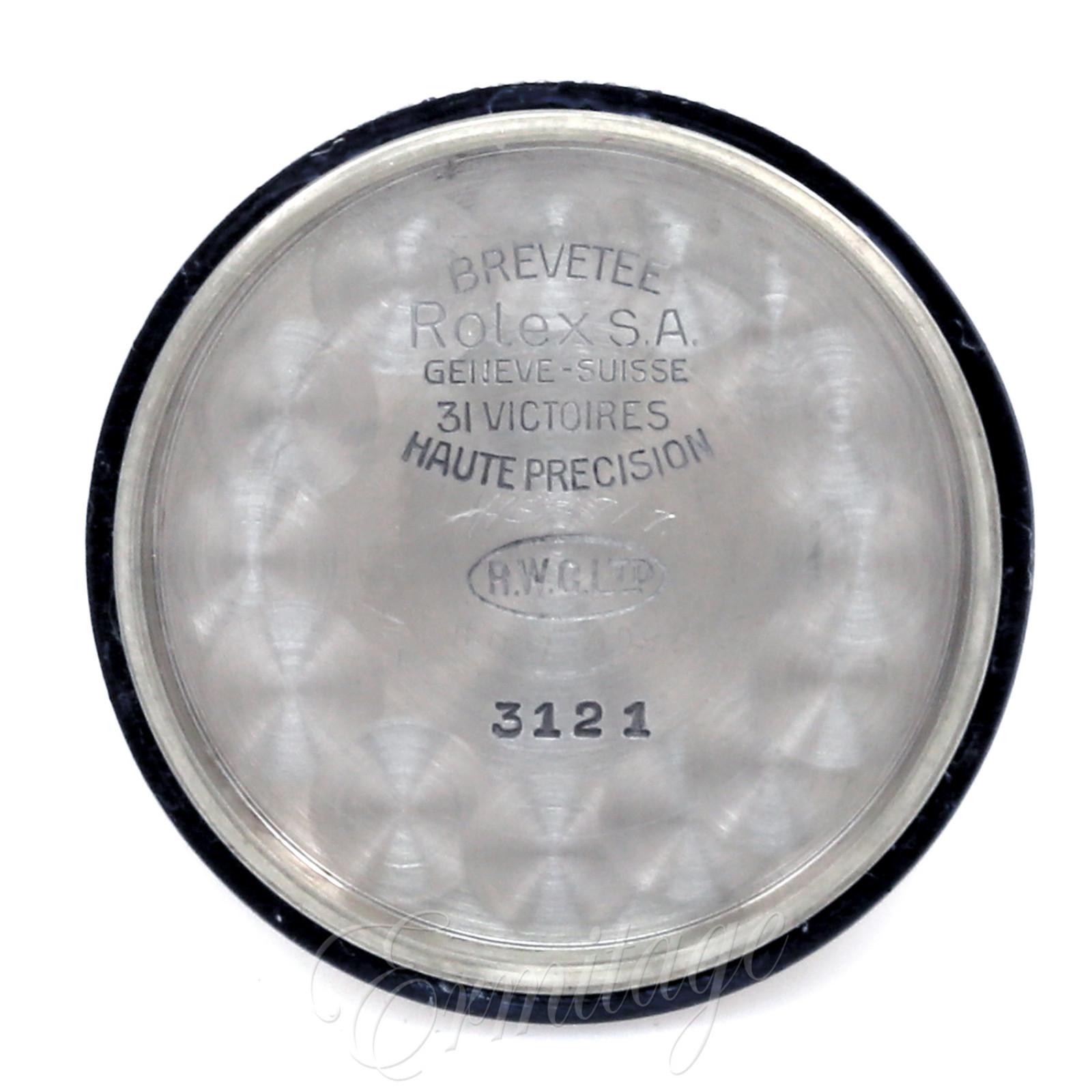 Vintage Rare Rolex Royalite 3121
