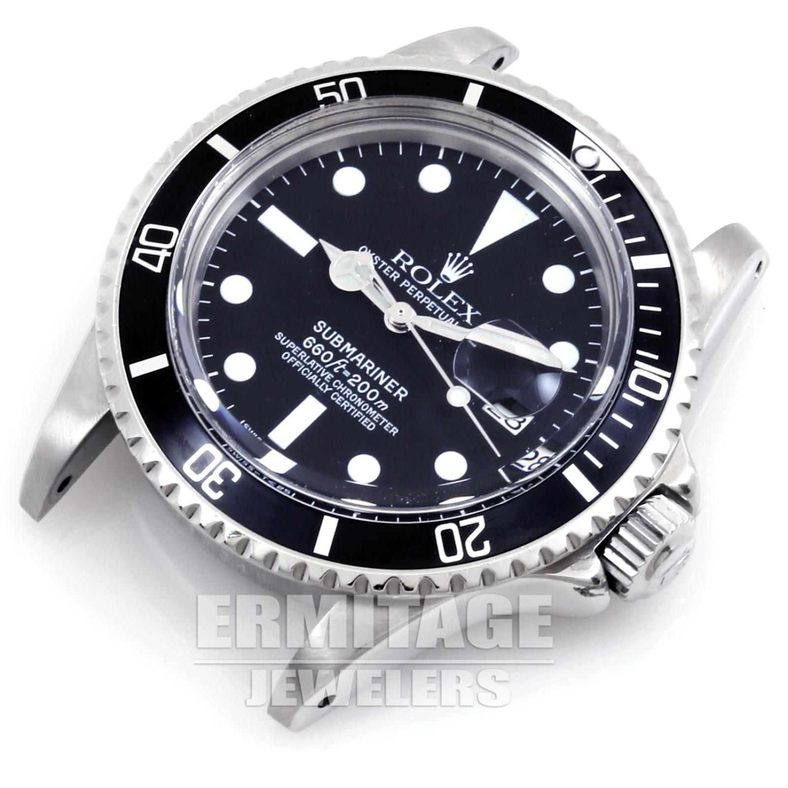 Vintage Rolex Submariner 1680 Black