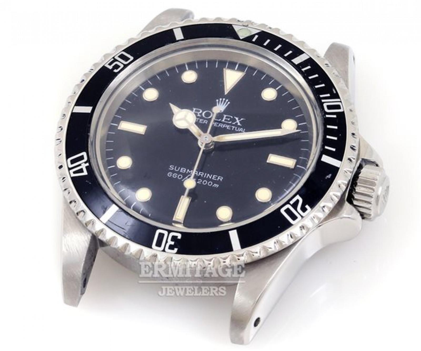Vintage Rolex Submariner 5513 Steel with Black Dial