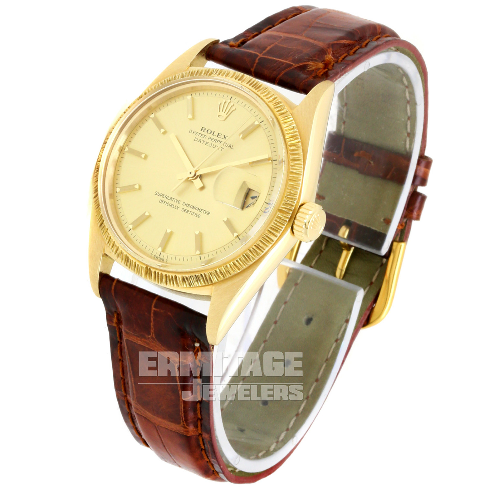 Rolex Datejust 1607 with Champagne Dial