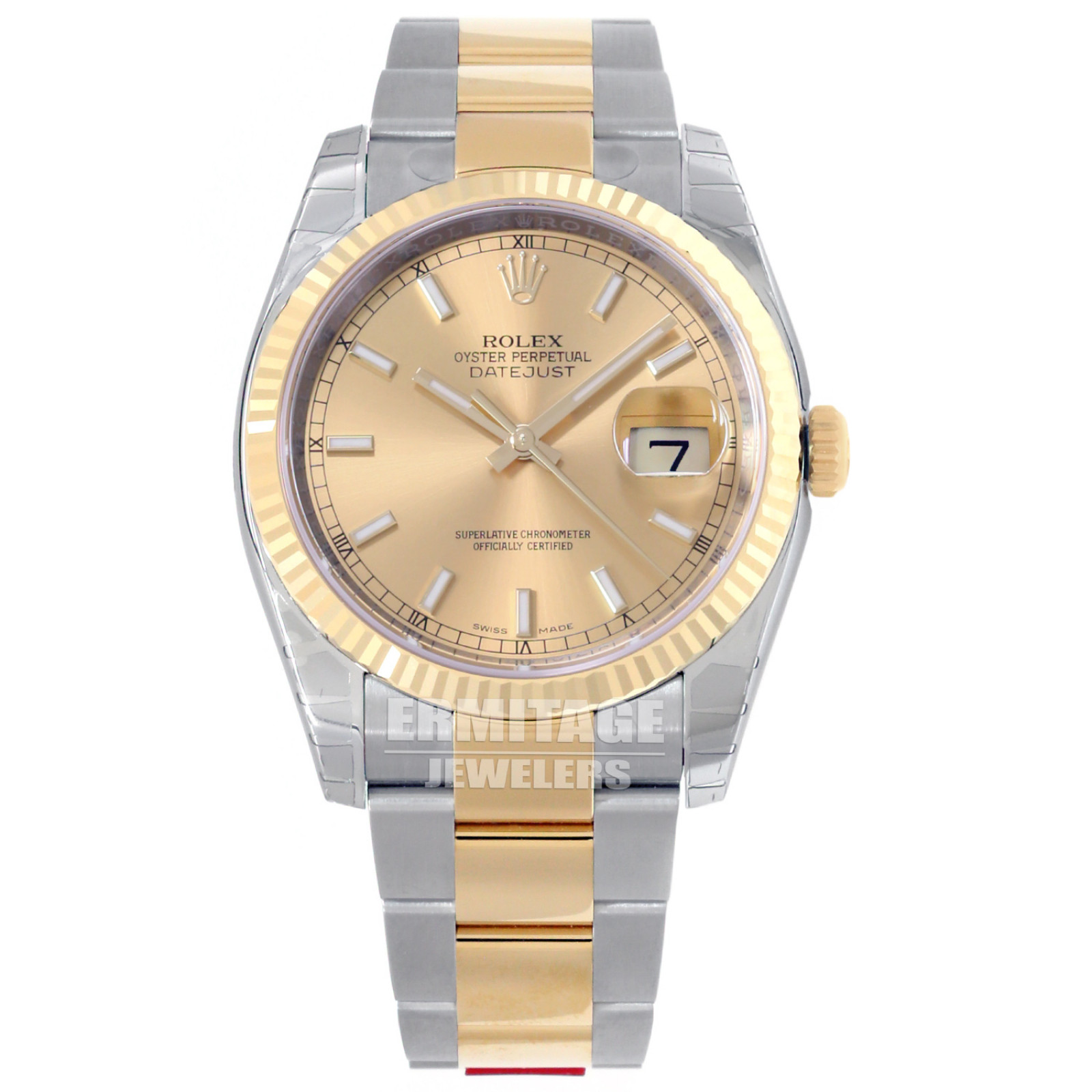 Pre-Owned Rolex Datejust 116233 Two Tone Gold & Steel