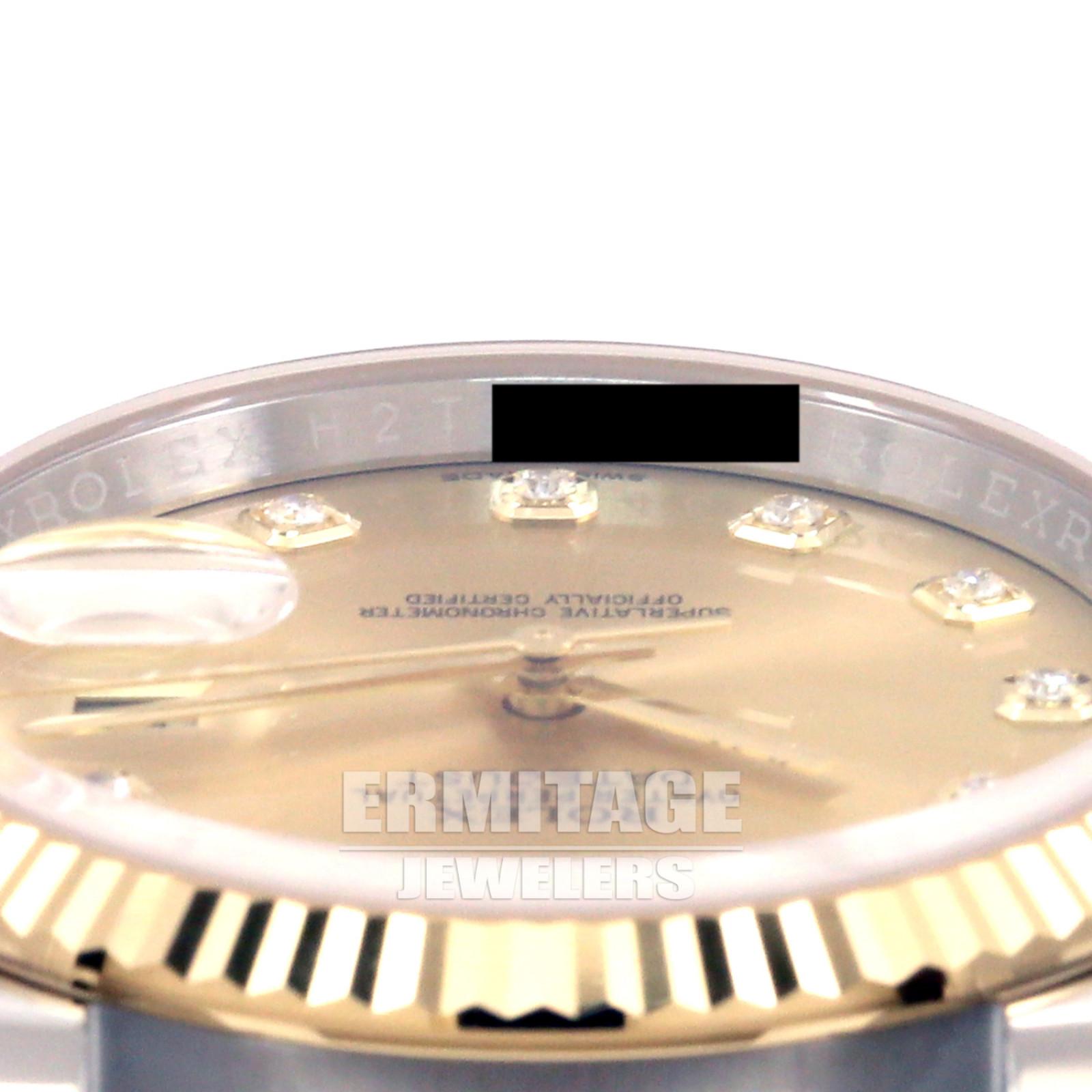 Pre-Owend Rolex Datejust 116233 18kt Yellow Gold
