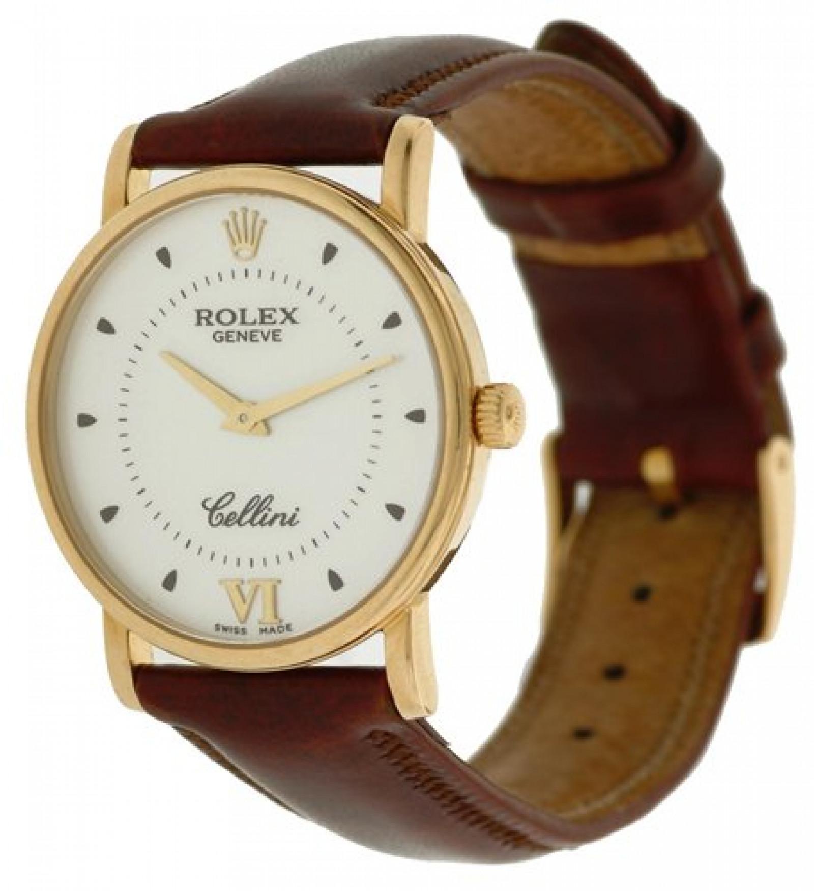 Rolex Cellini 5115 Gold Year 1998