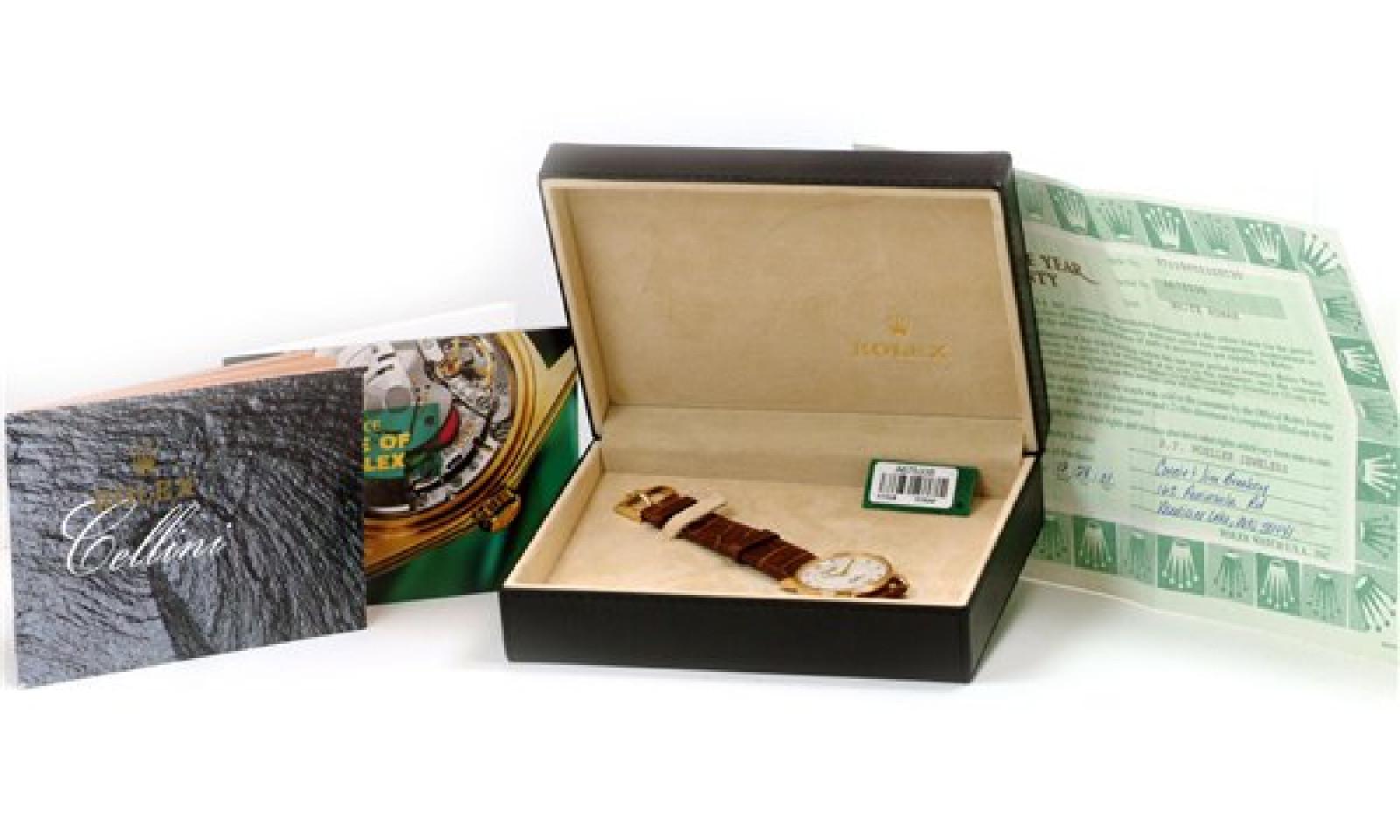 Rolex Cellini 5115 Gold Year 2001