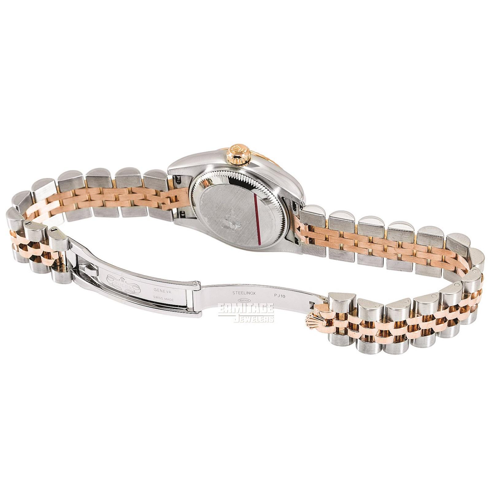 2011 White Rolex Datejust Ref. 179171