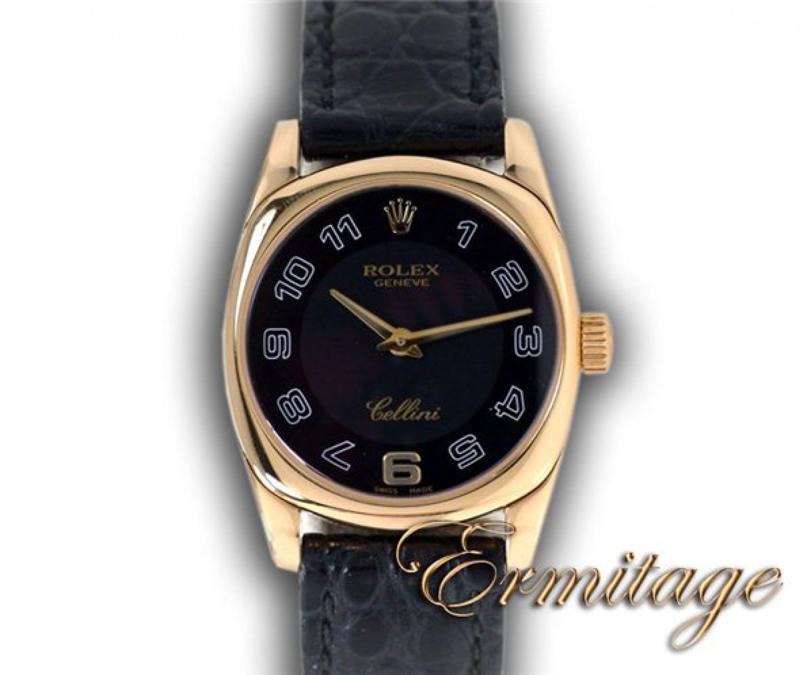 Gold Rolex Cellini 6229 Year 1999