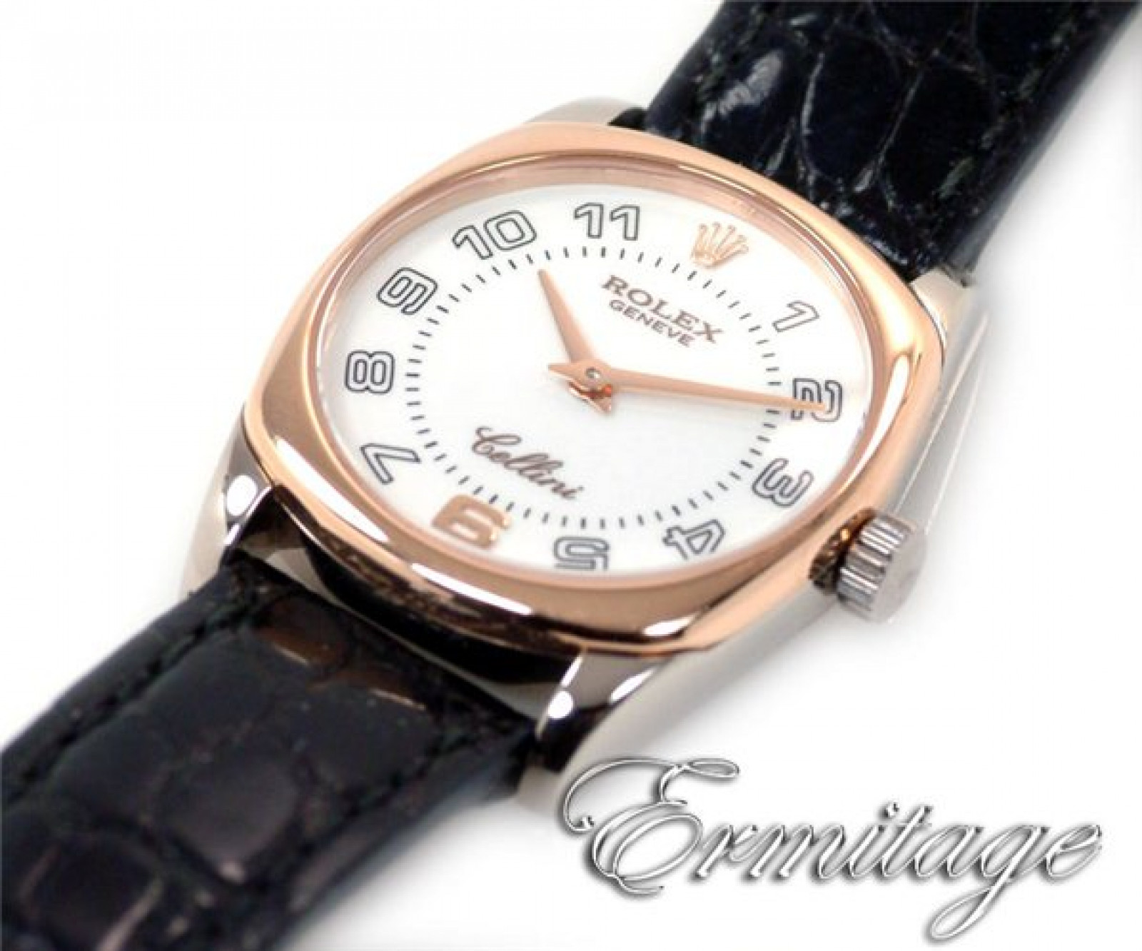 Pre-Owned Rolex Cellini 6229 Gold Year 2008