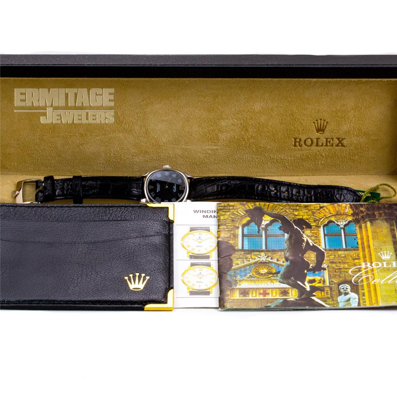 Rolex Cellini Ladies Watch 6229 5330