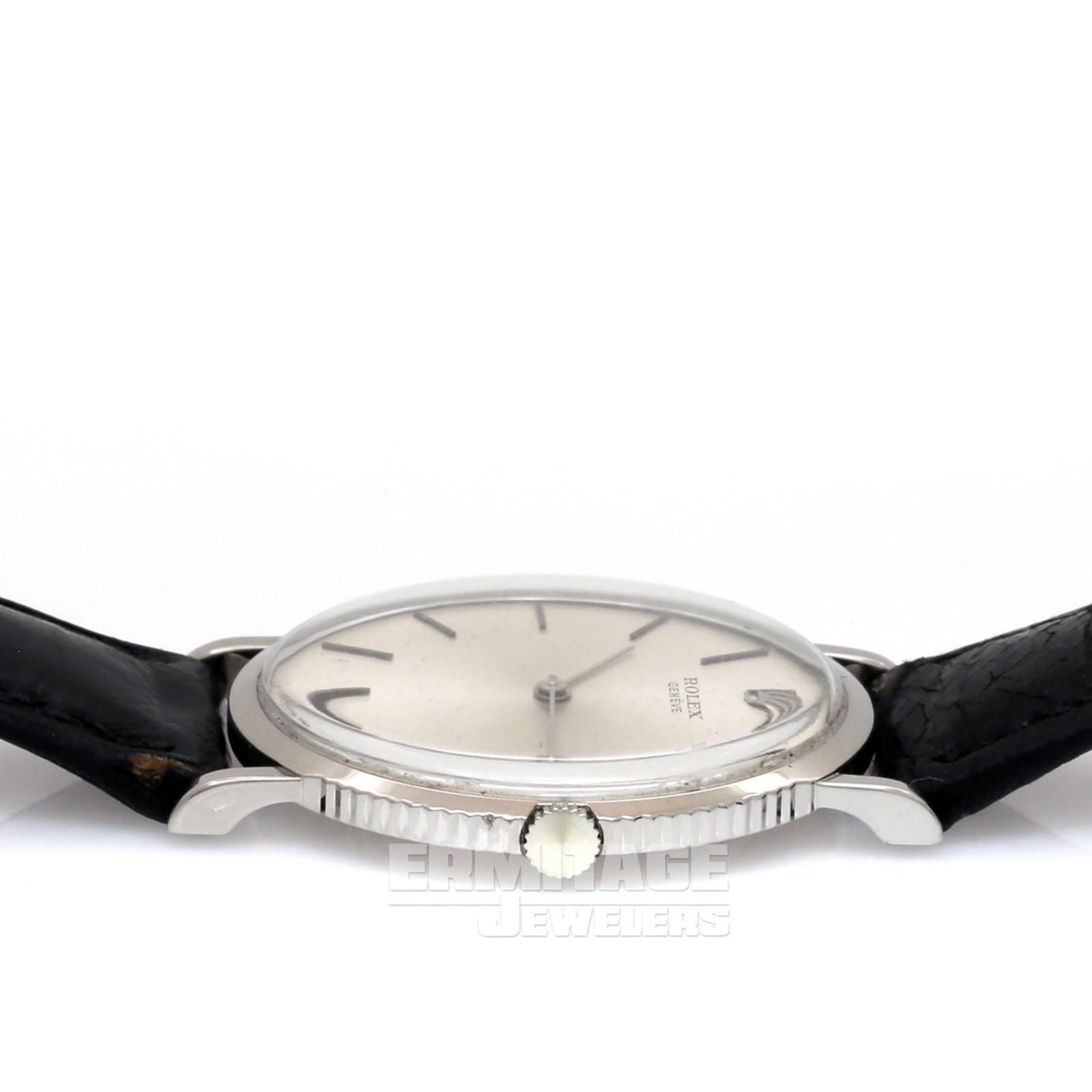 White Gold Rolex Cellini 9577
