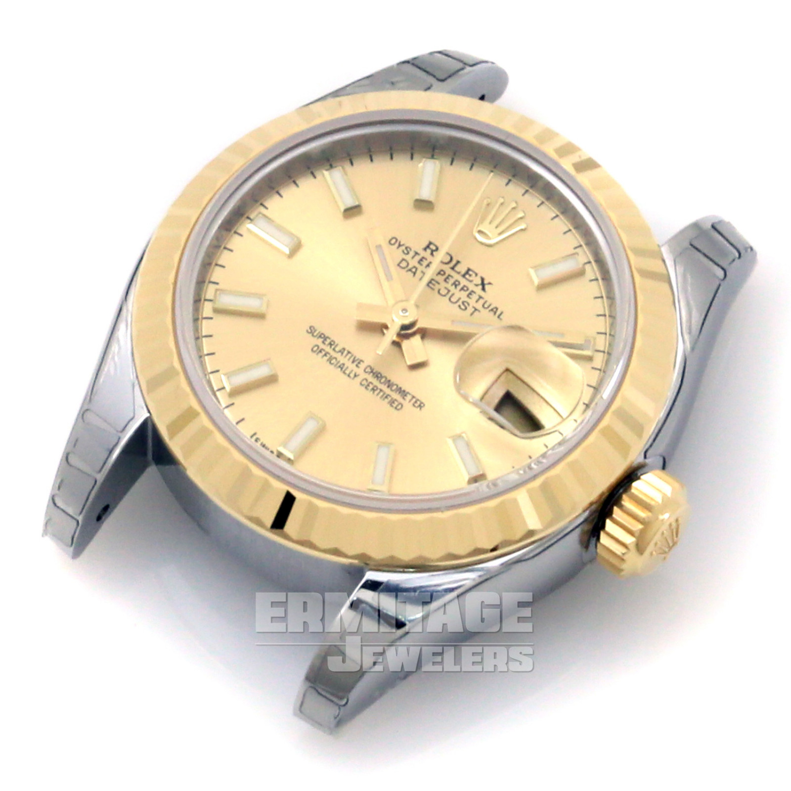 Pre-Owned Rolex Datejust 179173 with Luminous Champagne Dial
