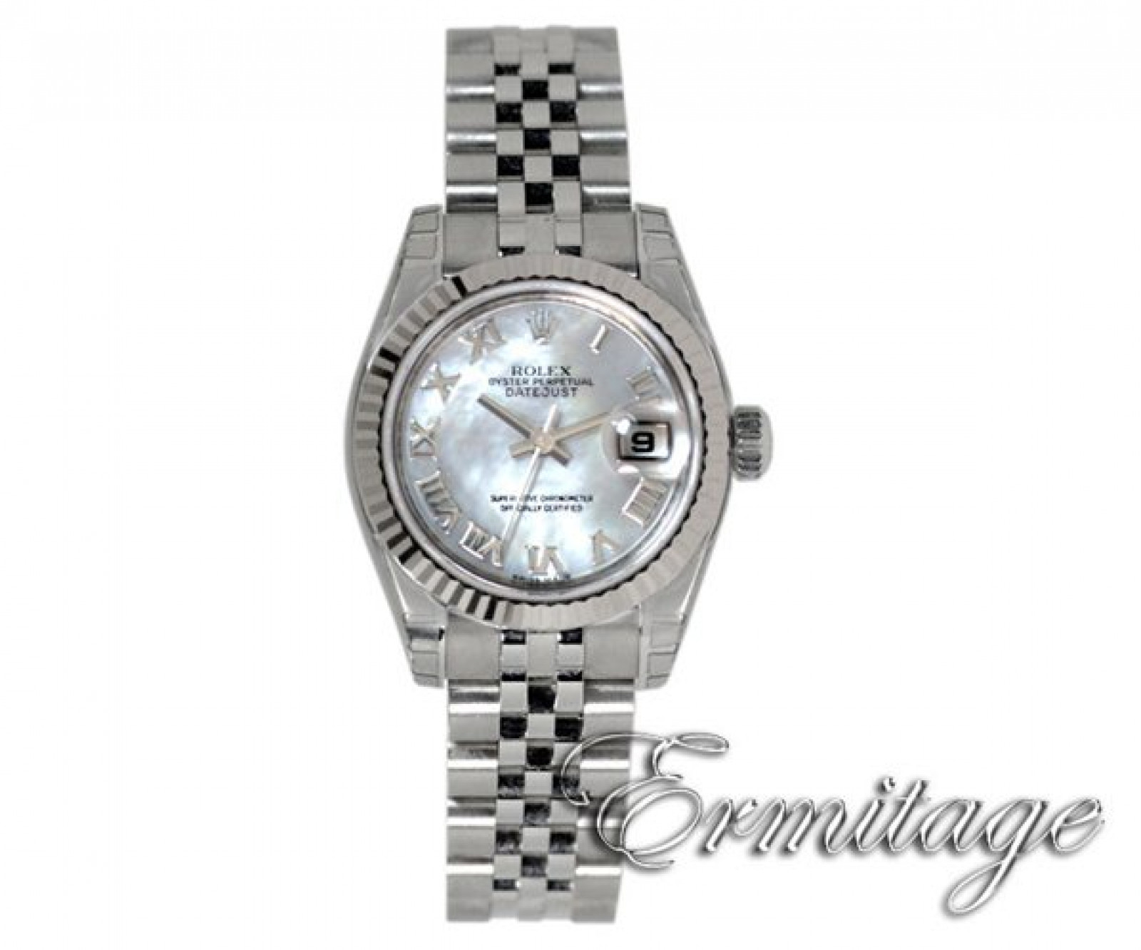 Rolex Datejust 179174 Steel with White Dial & Roman Markers