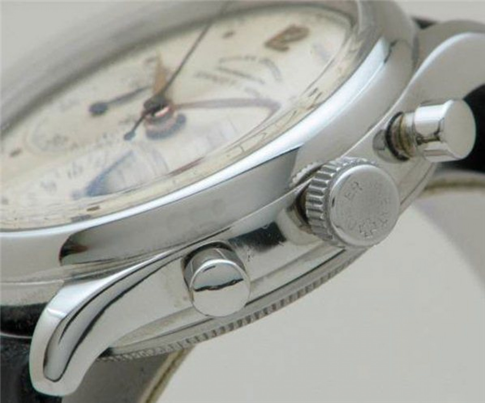 Vintage Rolex Chronograph 4048 Steel with White Dial