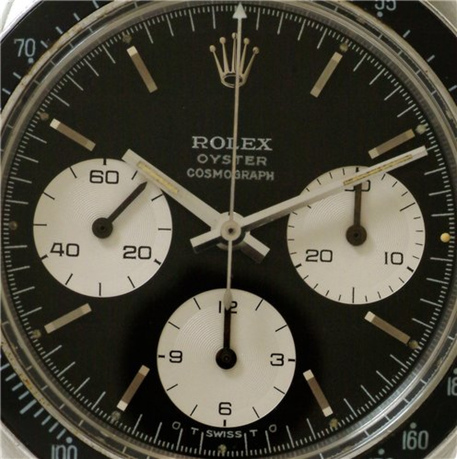 Vintage Rolex Cosmograph 6263 Steel Year 1975 with Silver Dial