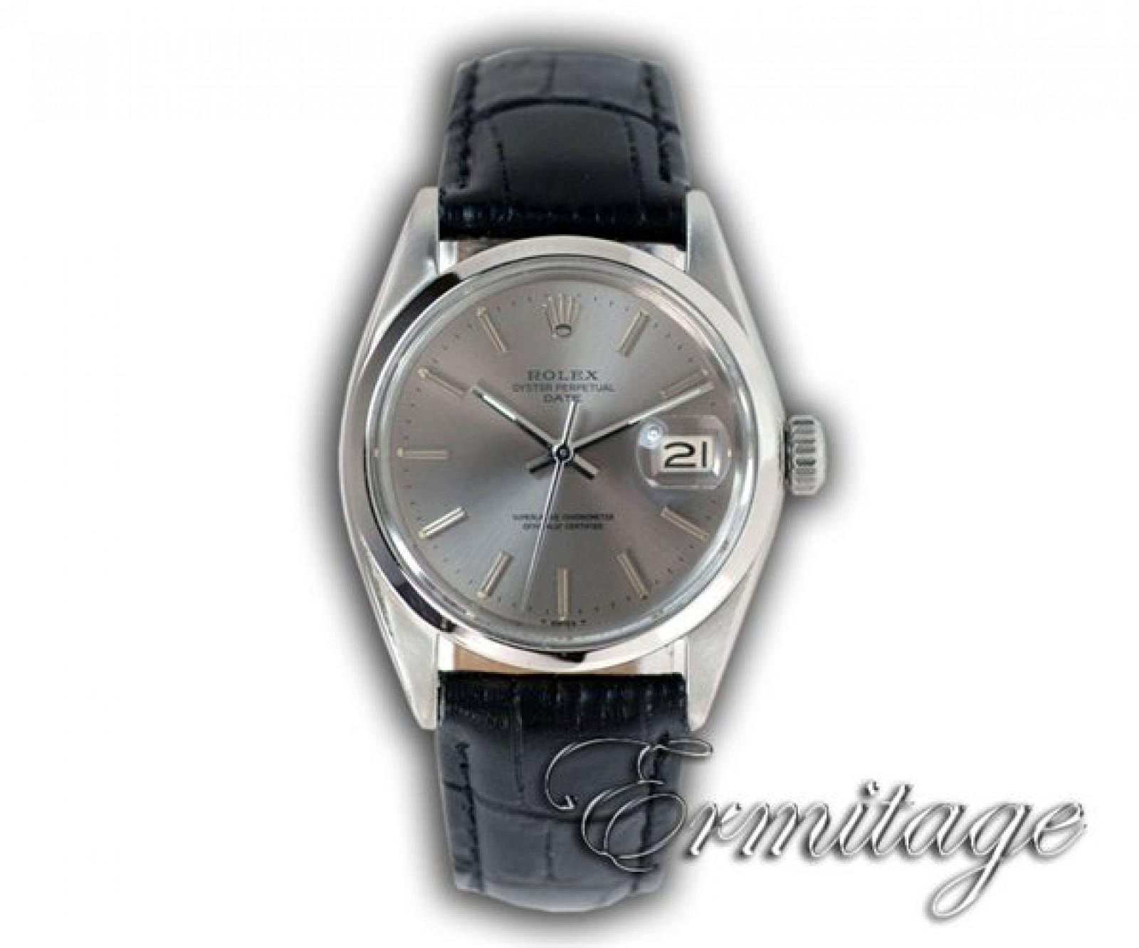 Vintage Rolex Date 1500 Steel Year 1964