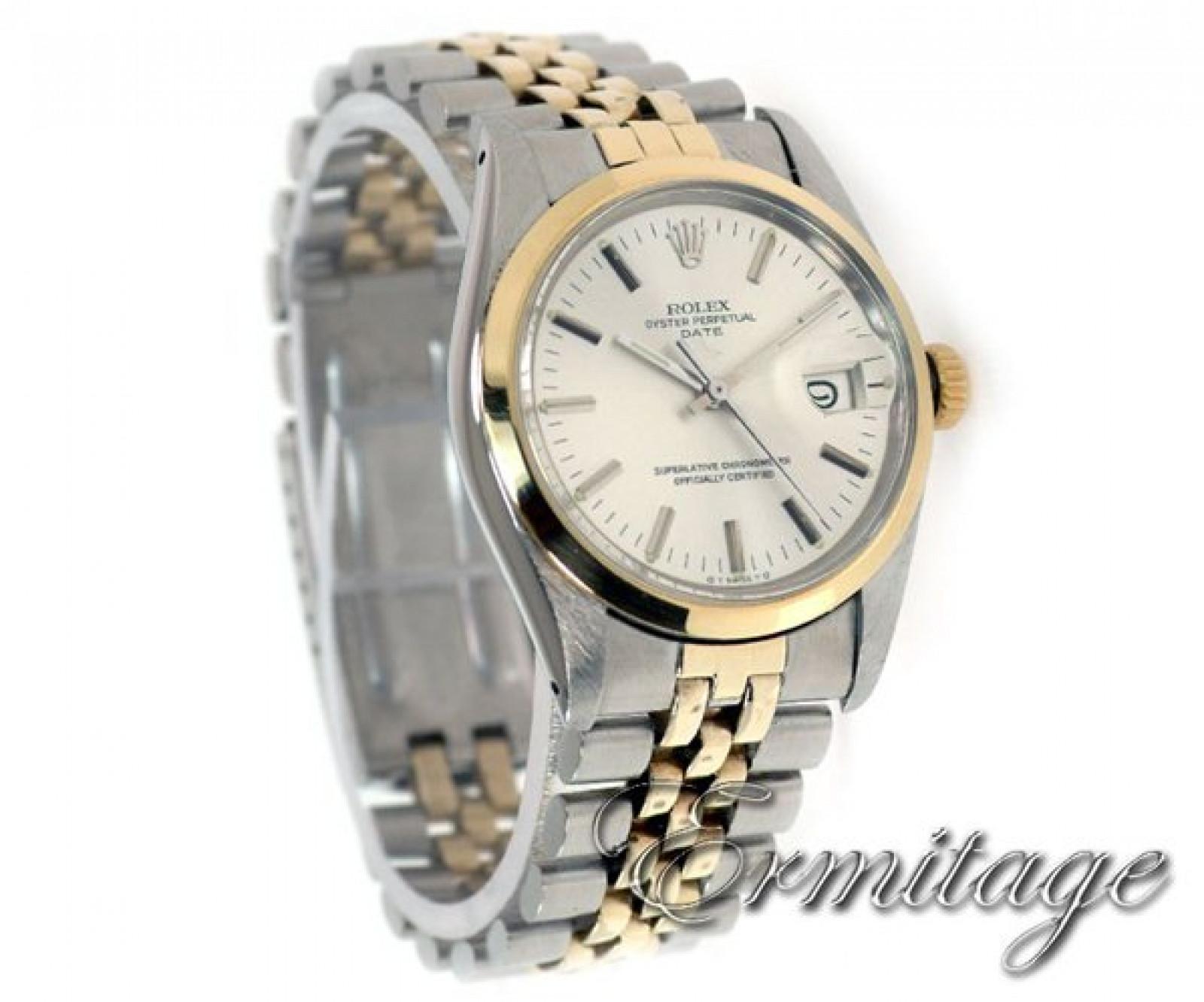 Rolex Date 1501 Gold & Steel