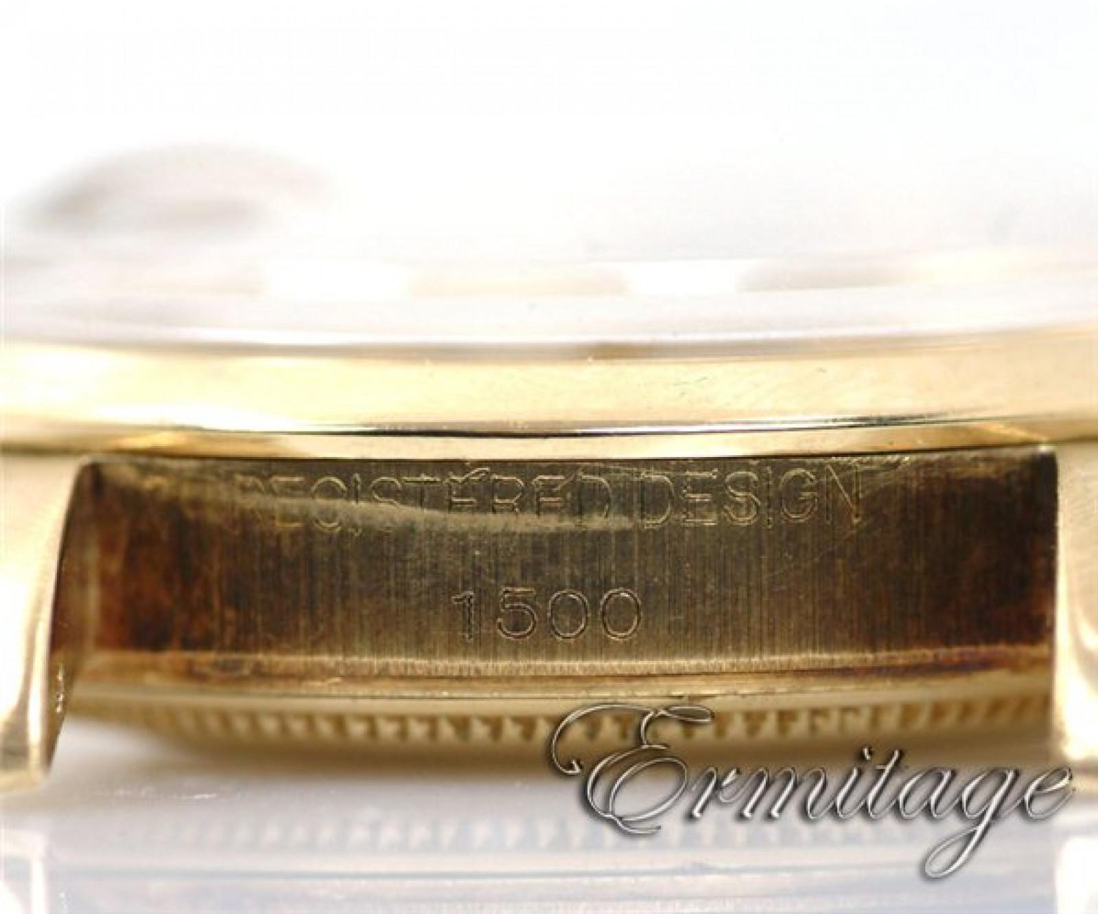 Vintage Rolex Date 1500 Gold