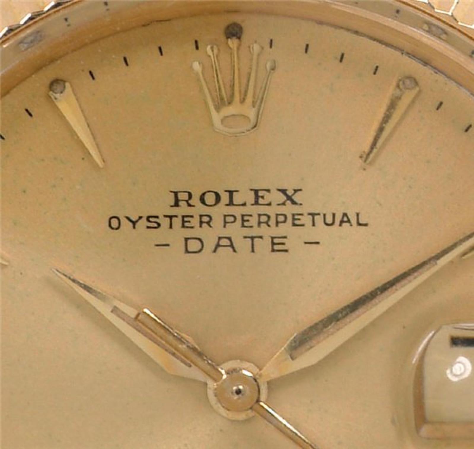 Gold Vintage Rolex Date 1503