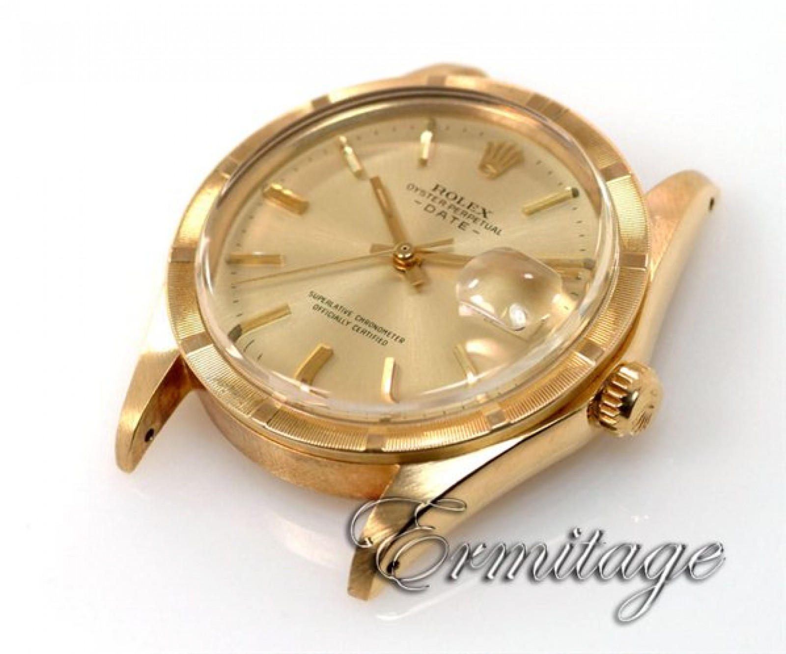 Vintage Rolex Date 1501 Gold with Champagne Dial
