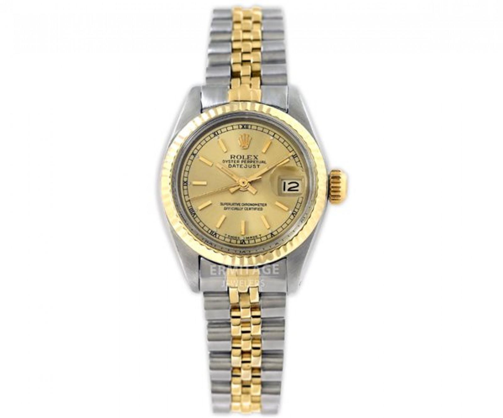 Vintage Rolex Datejust 6917 Two Tone