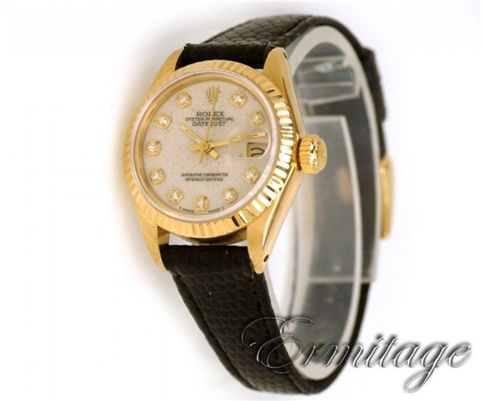 Pre-Owned Diamond Rolex Date 6917
