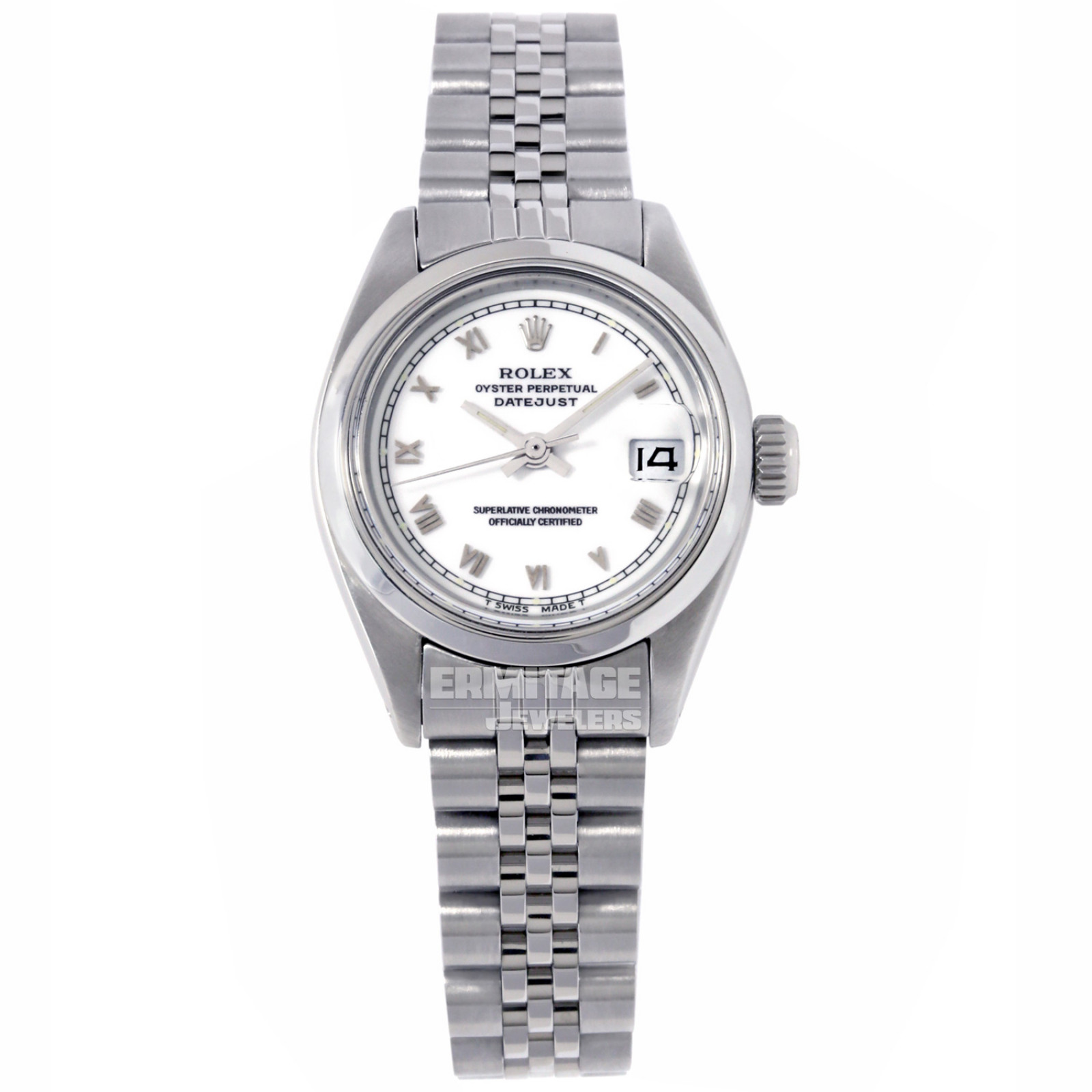 Vintage Rolex Datejust 6917 with White Dial