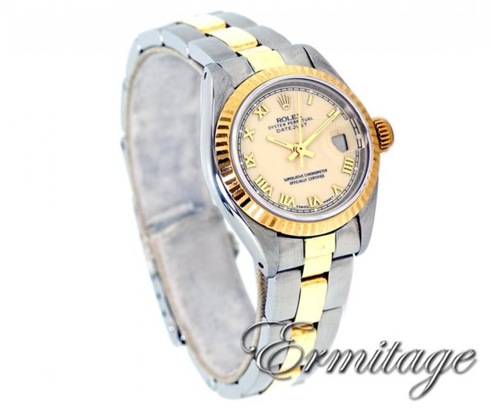 Vintage Rolex Datejust 6917 Gold & Steel Year 1980