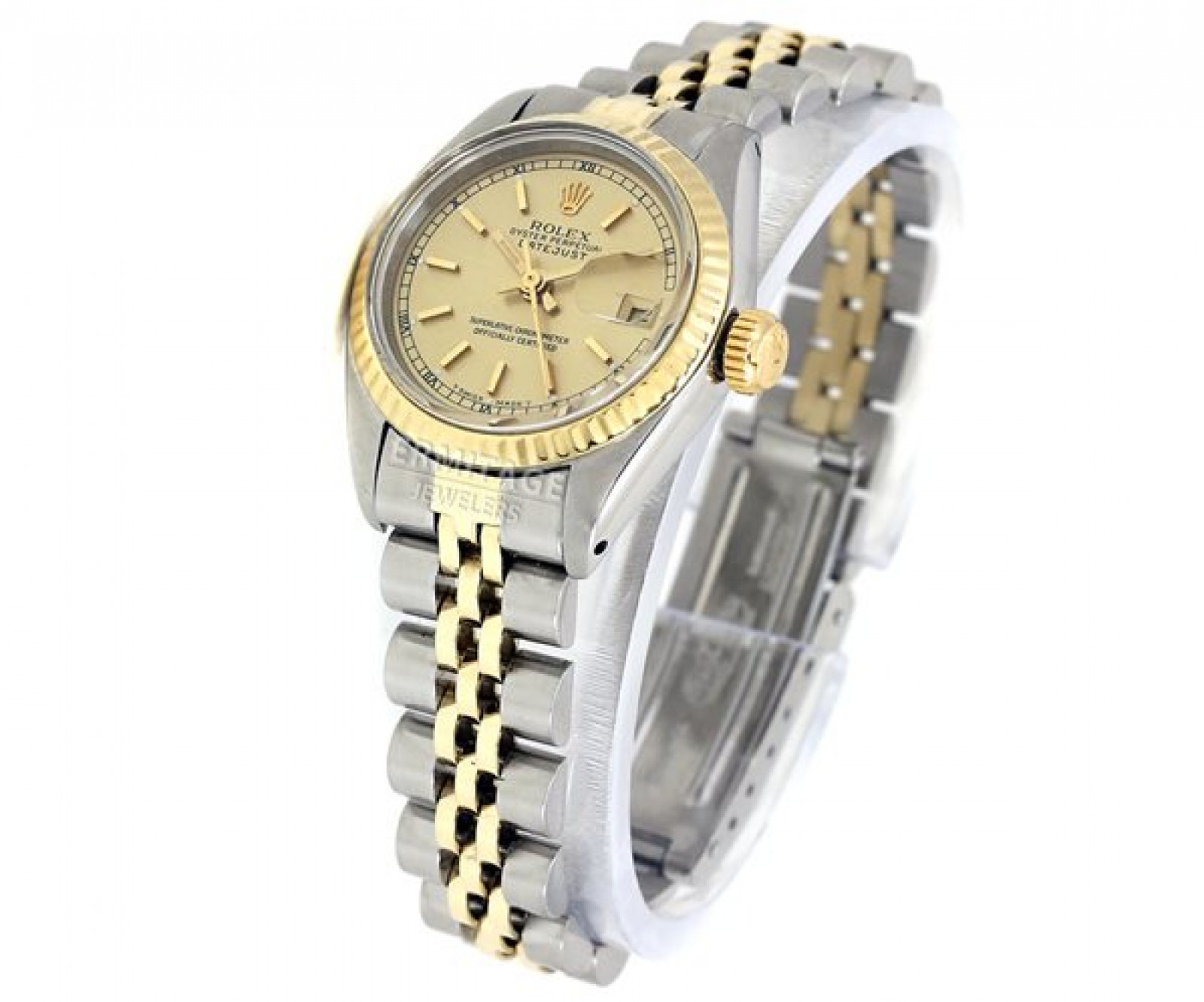 Vintage Rolex Datejust 6917 Two Tone