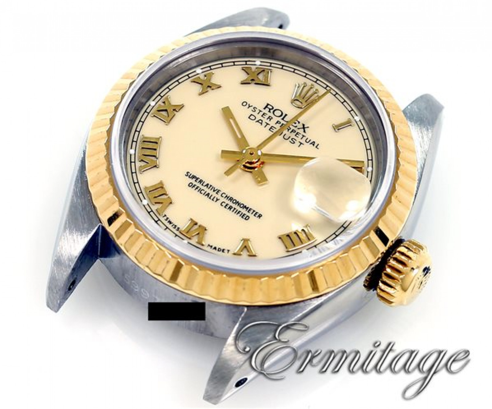 Vintage Rolex Datejust 6917 Gold & Steel Year 1980