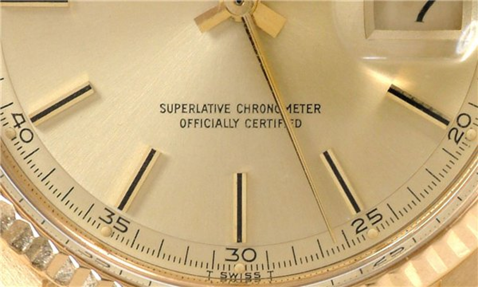 Vintage Rolex Day-Date 1803 Gold Year 1975
