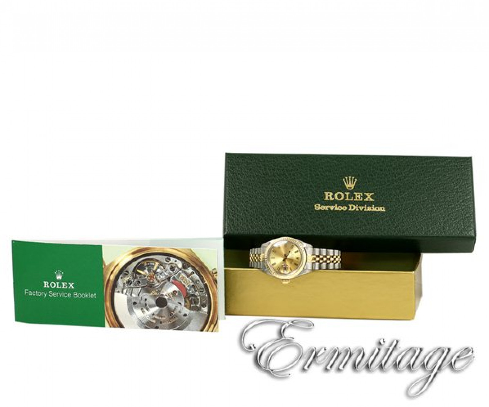 Vintage Rolex Date 6917 Gold & Steel with Champagne Dial