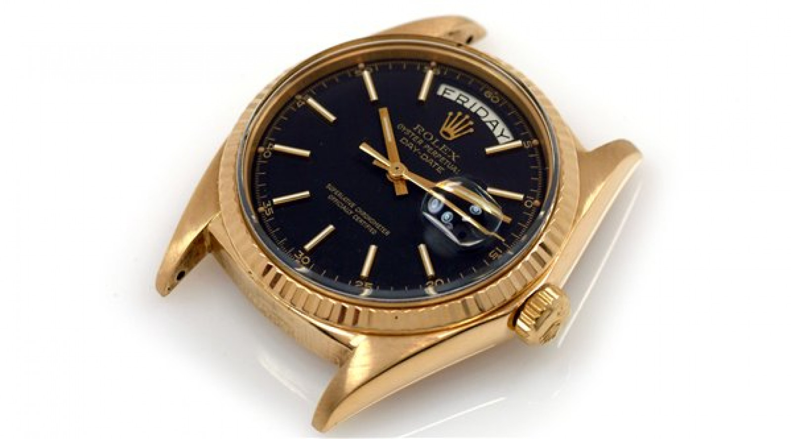 Vintage Rolex Day-Date 1803 Gold Year 1969 with Black Dial 1969