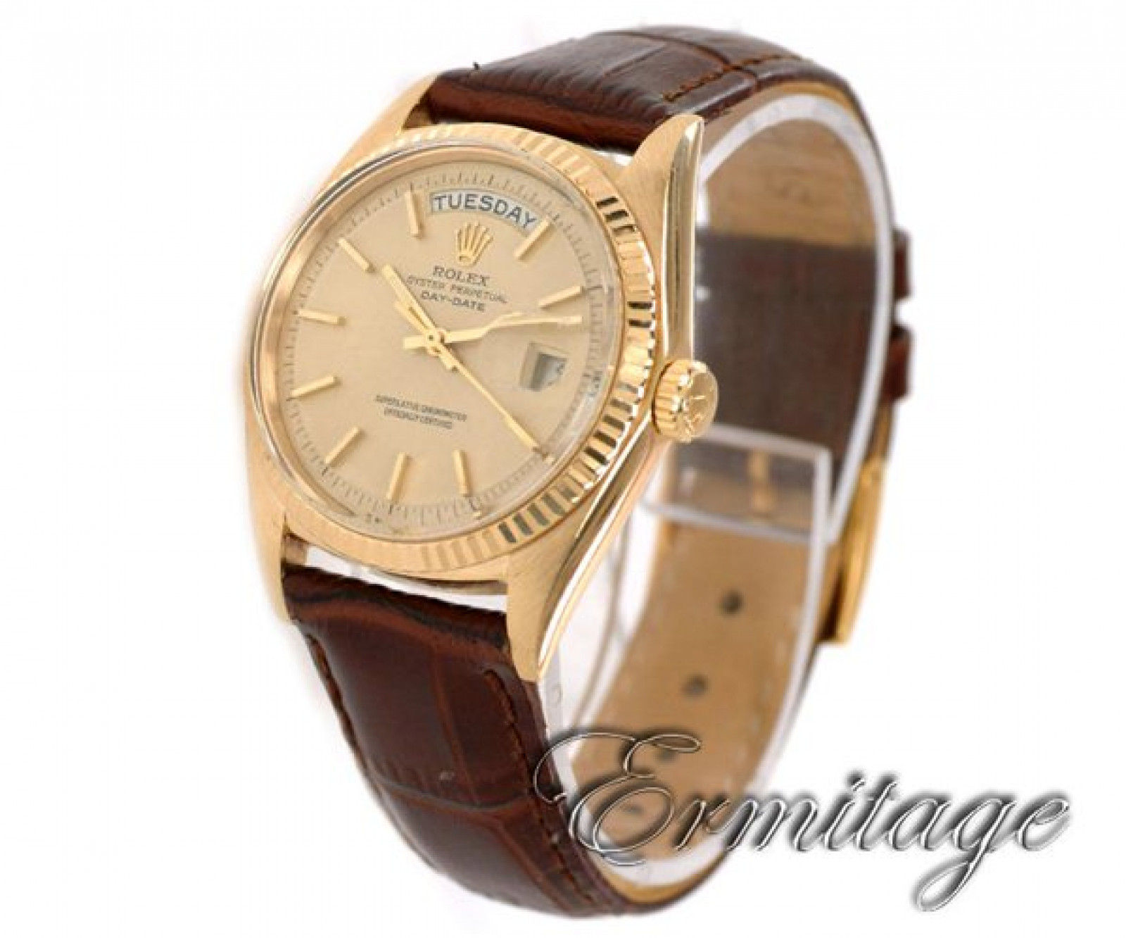 Vintage Rolex Day-Date 1803 Gold Year 1963 with Champagne Dial 1963