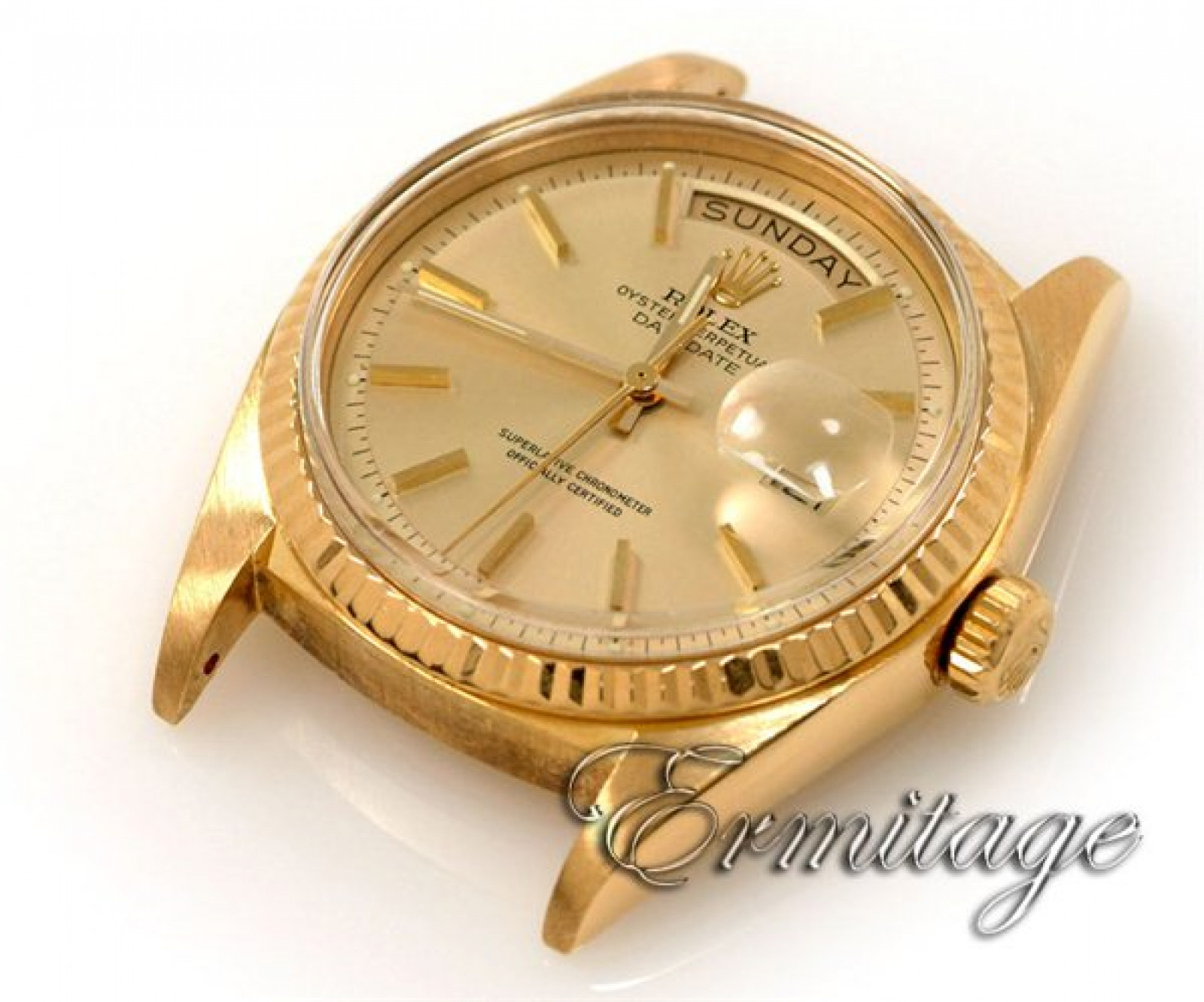 Vintage Rolex Day-Date 1803 Gold Silver 1974