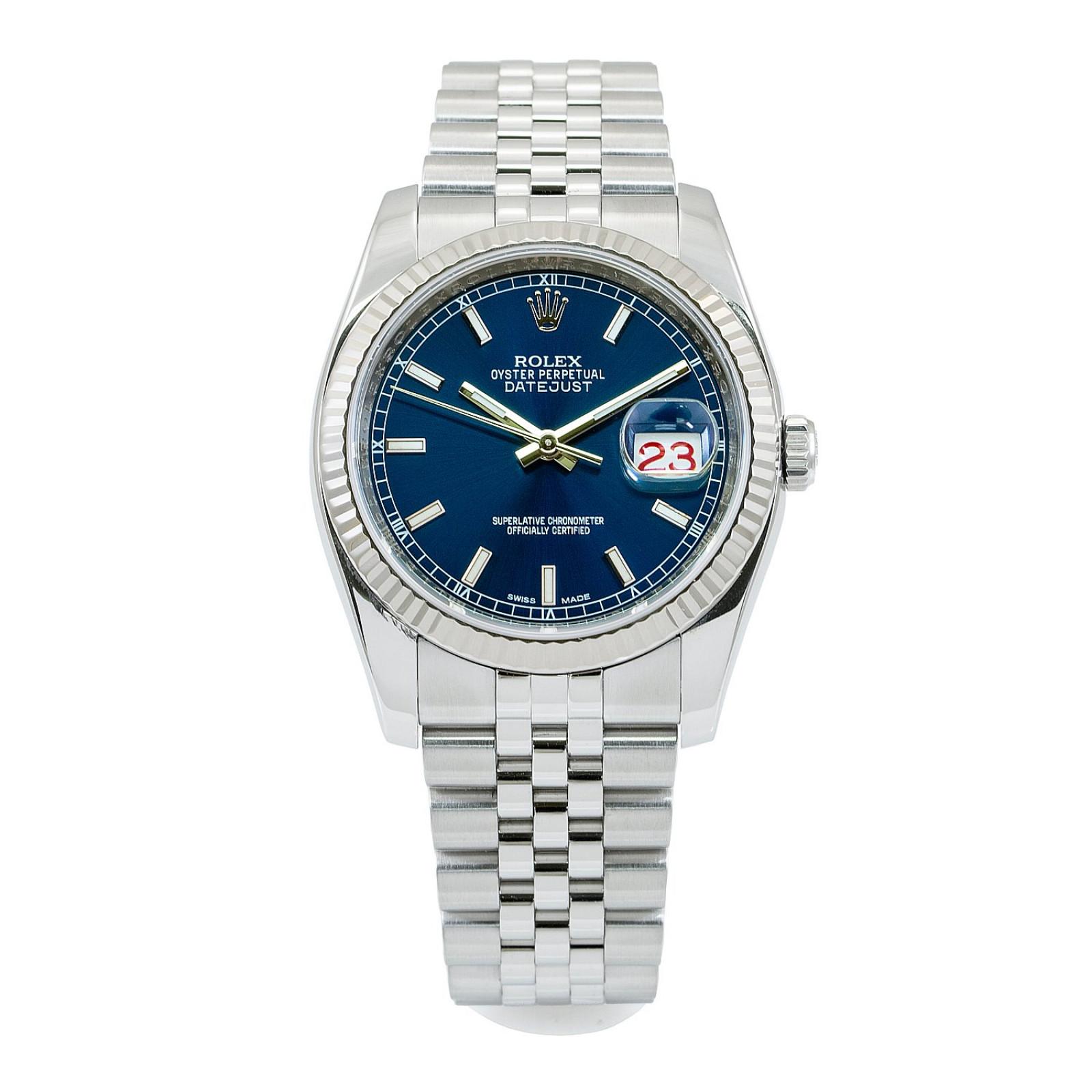 2014 Blue Rolex Datejust Ref. 116234