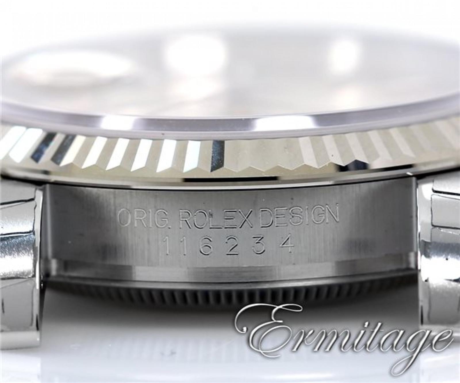 2012 Silver Rolex Datejust Ref. 116234