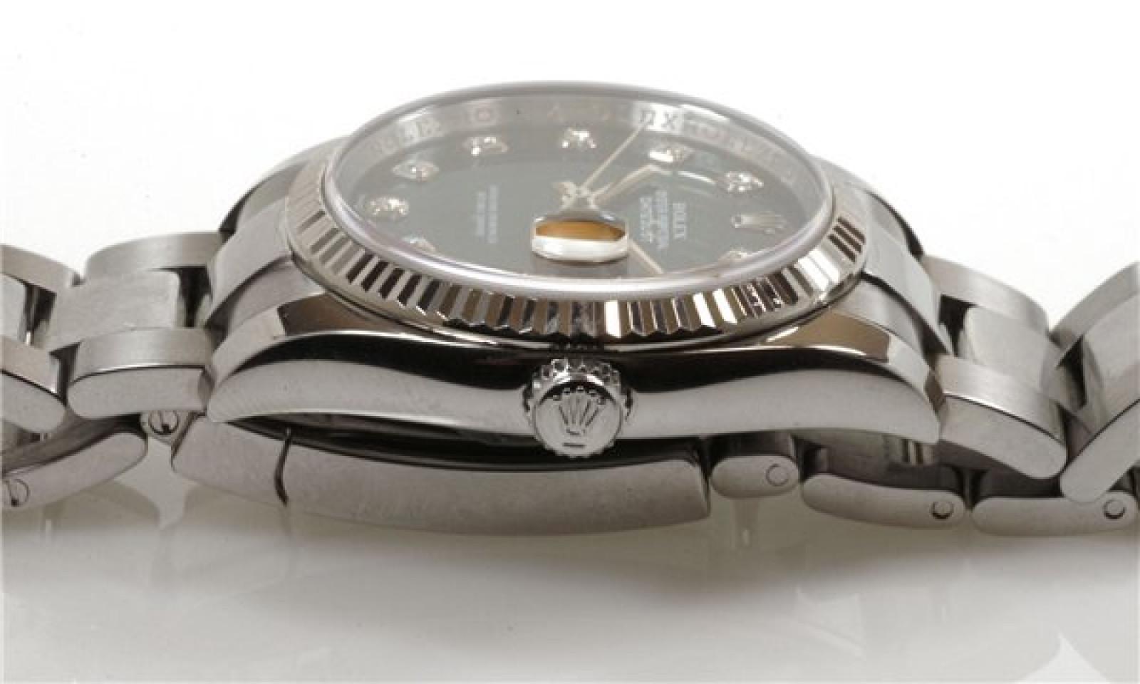 Pre-Owned Diamond Rolex Datejust 116234