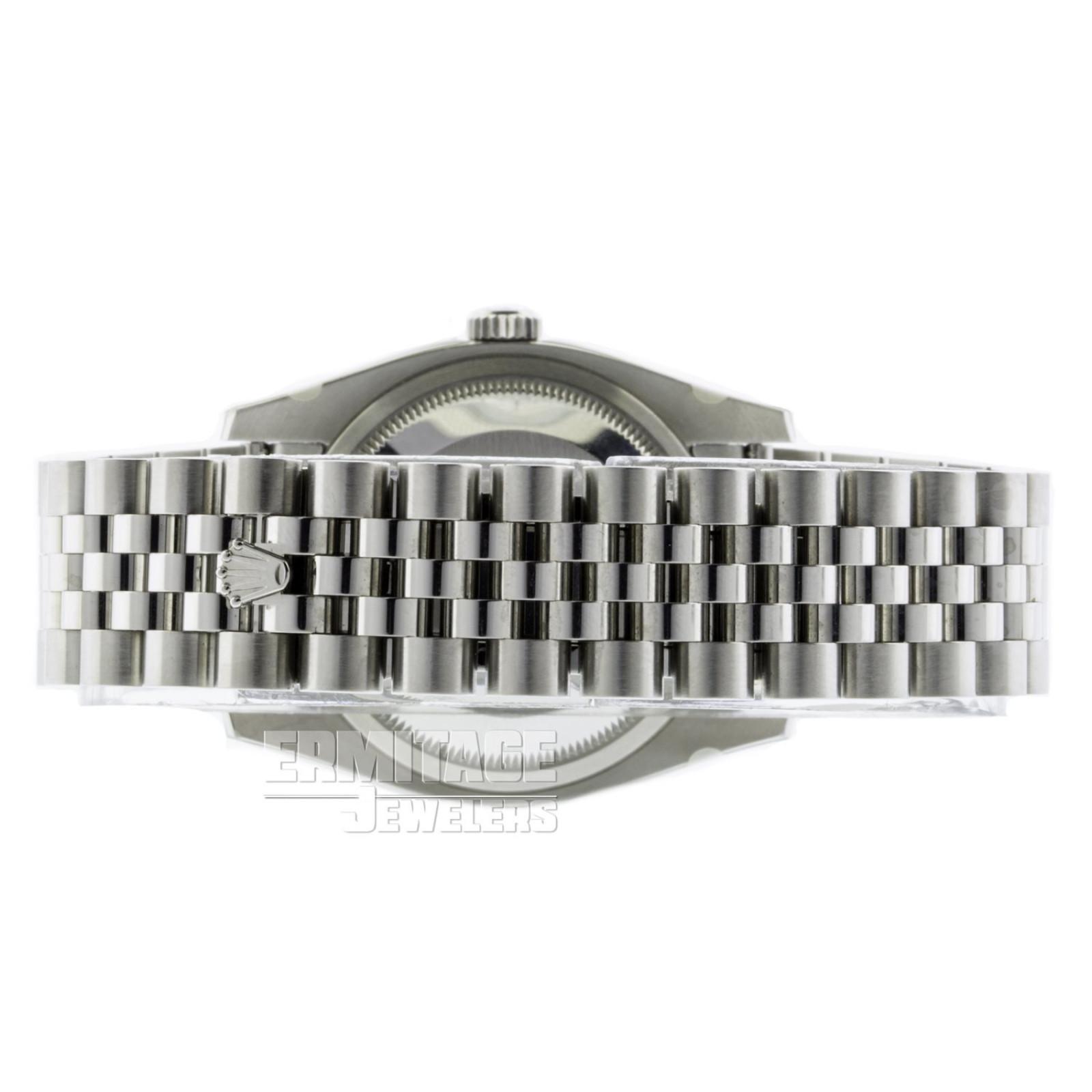 White Gold & Steel on Jubilee Rolex Datejust 116234 36 mm