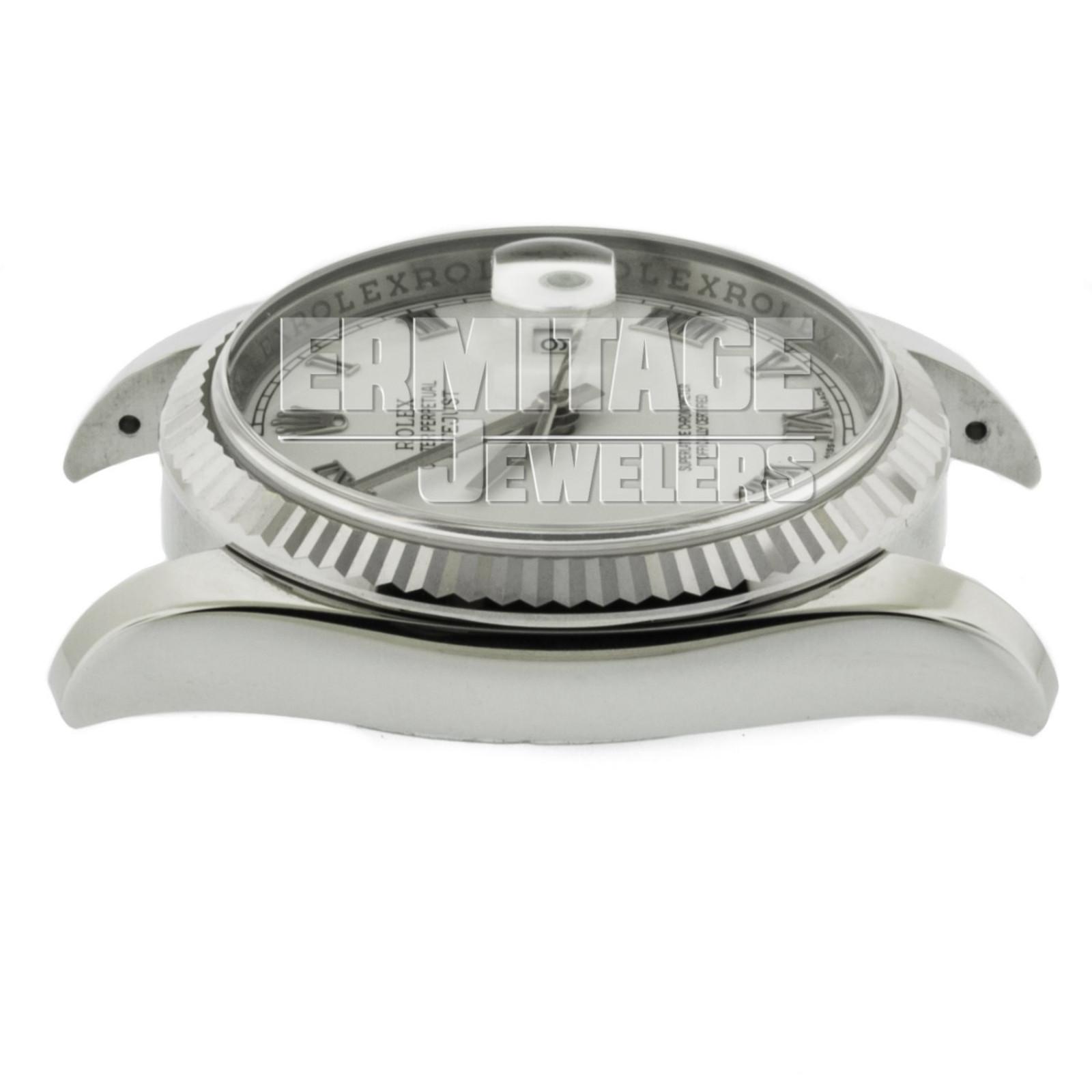 18kt White Gold & Steel on Jubilee Rolex Datejust 116234 36 mm