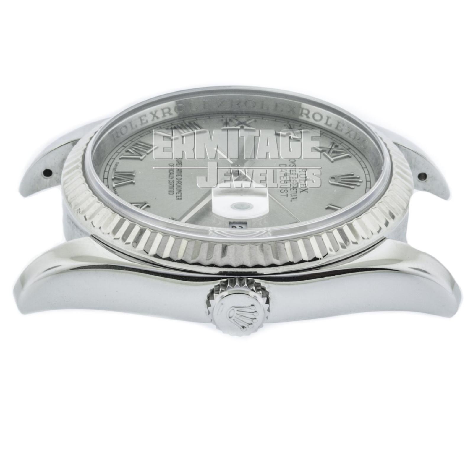 Rolex Datejust 116234 36 mm White Gold & Steel on Jubilee