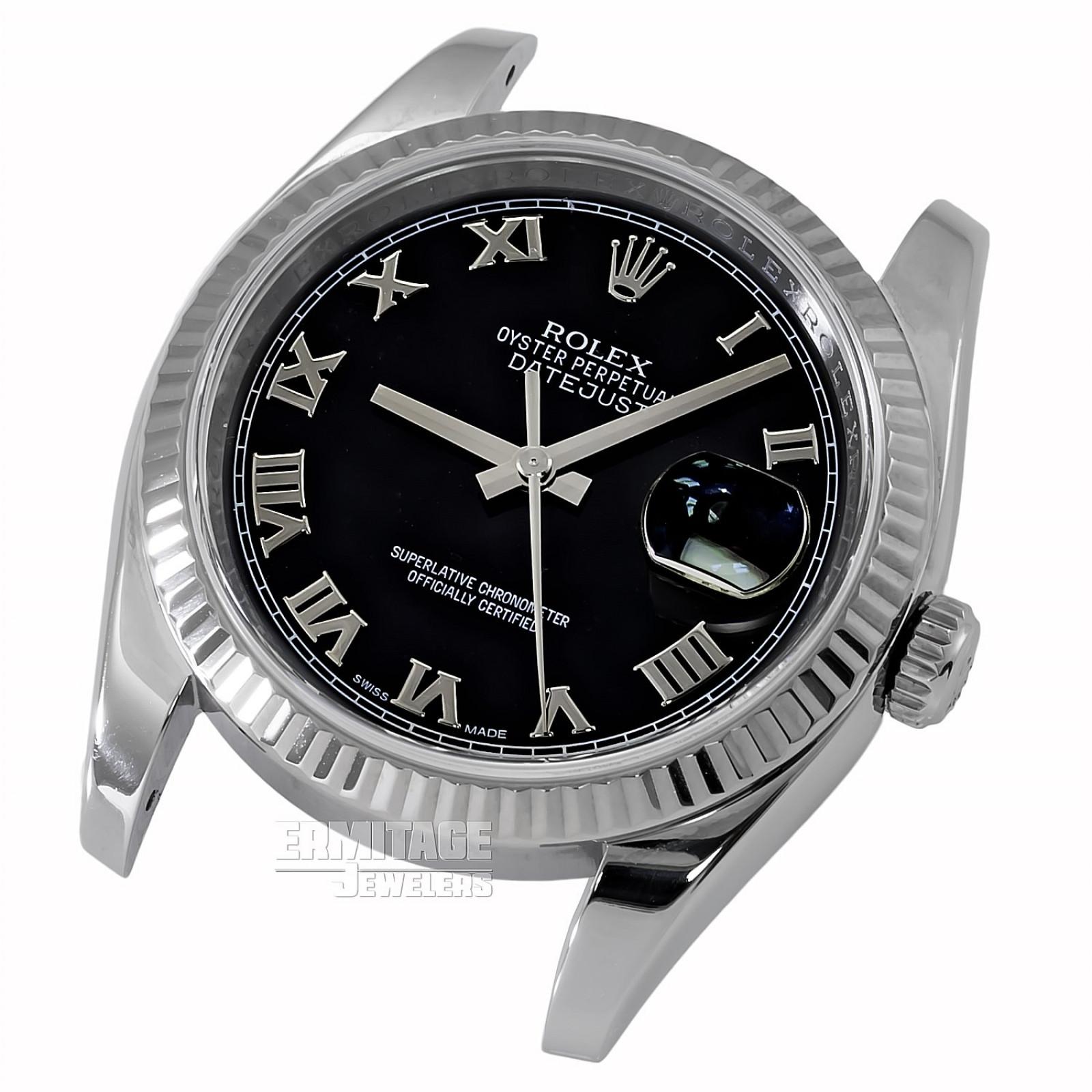 2015 Black Rolex Datejust Ref. 116234