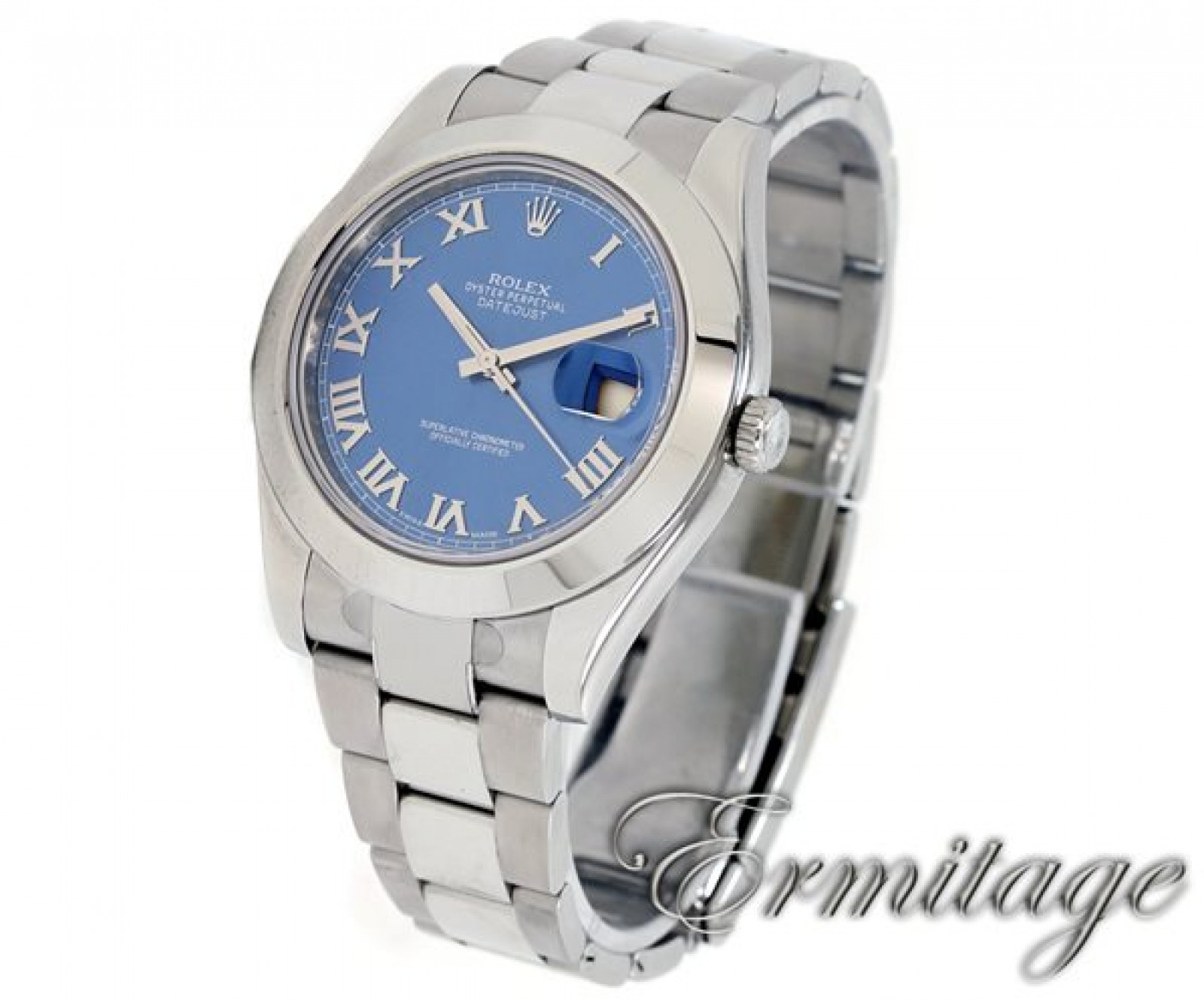 Rolex Datejust II 116300 Steel with Blue Dial