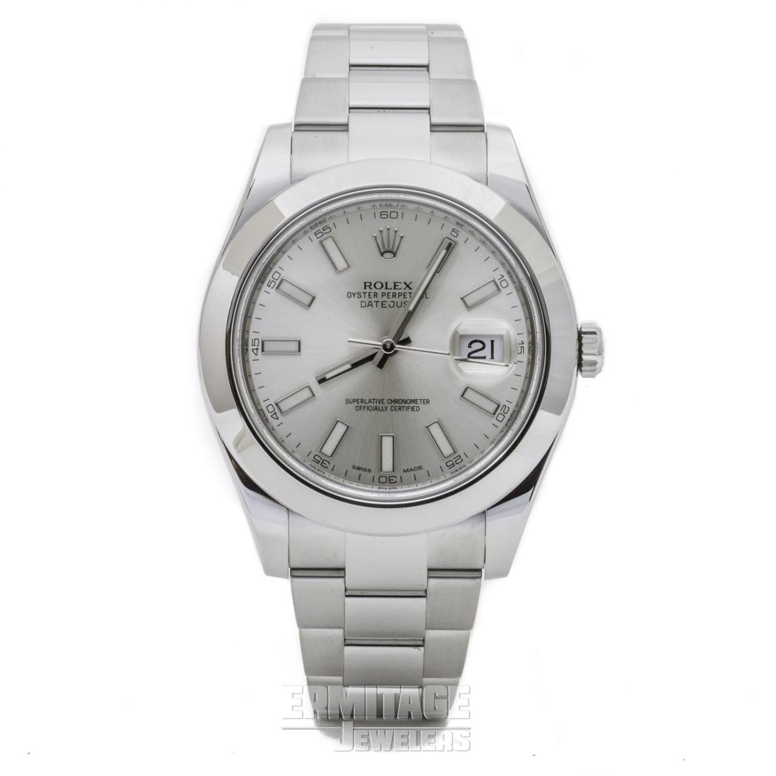 Used Rolex Datejust 116300 41 mm