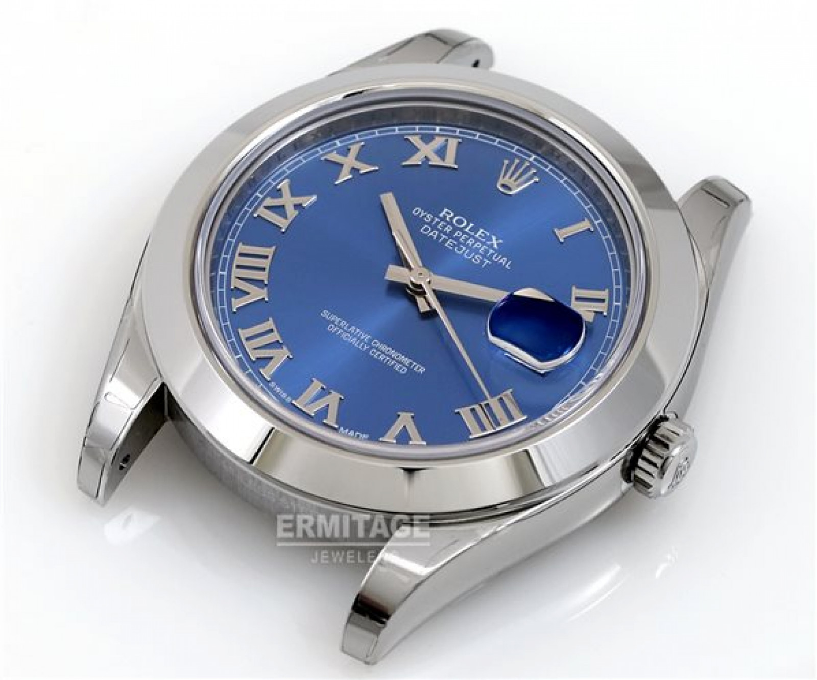 Rolex Datejust II 116300 Steel with Blue Dial & Roman Markers