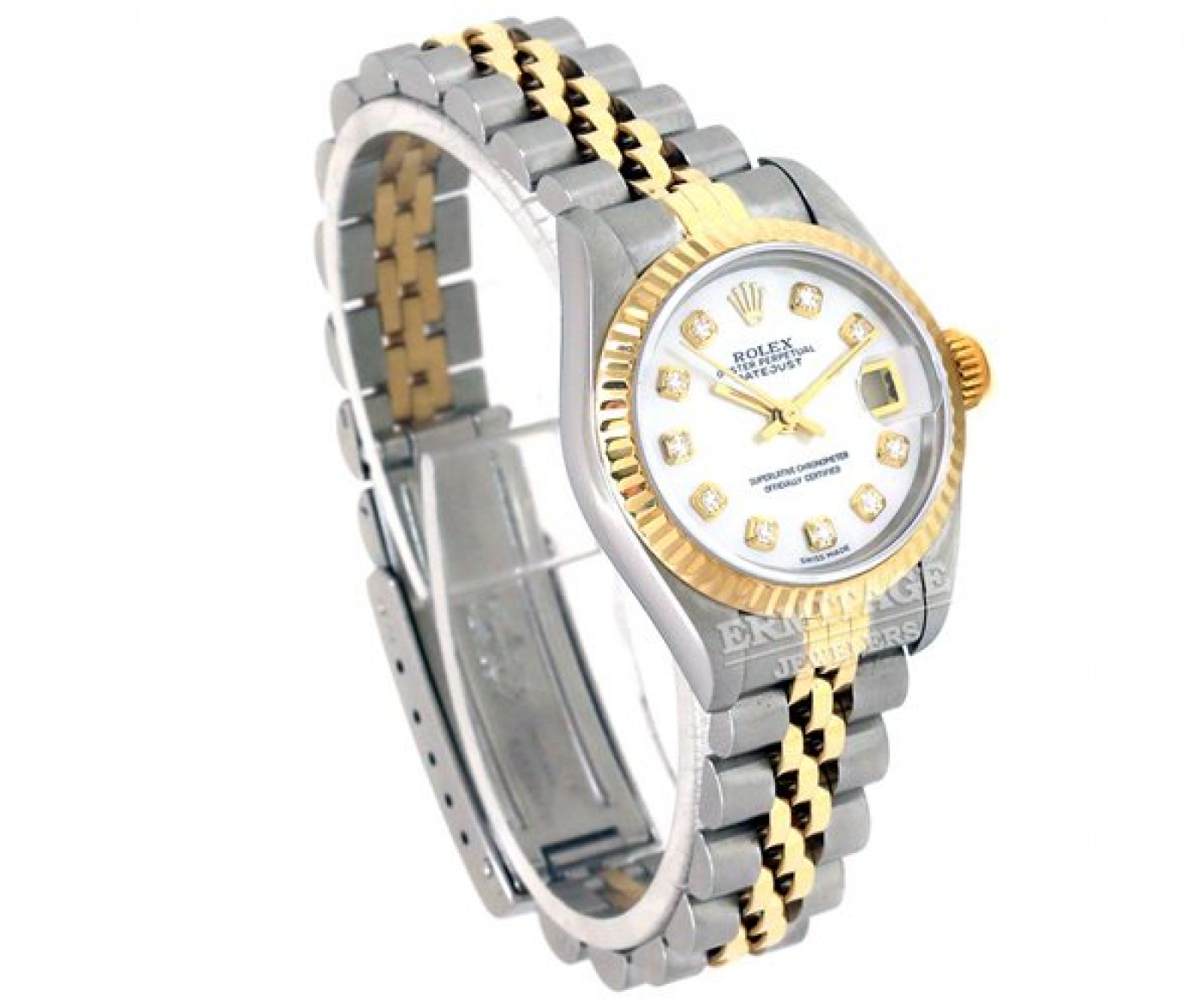 Dimaond Rolex Datejust Ref. 69173 Mother Of Pearl