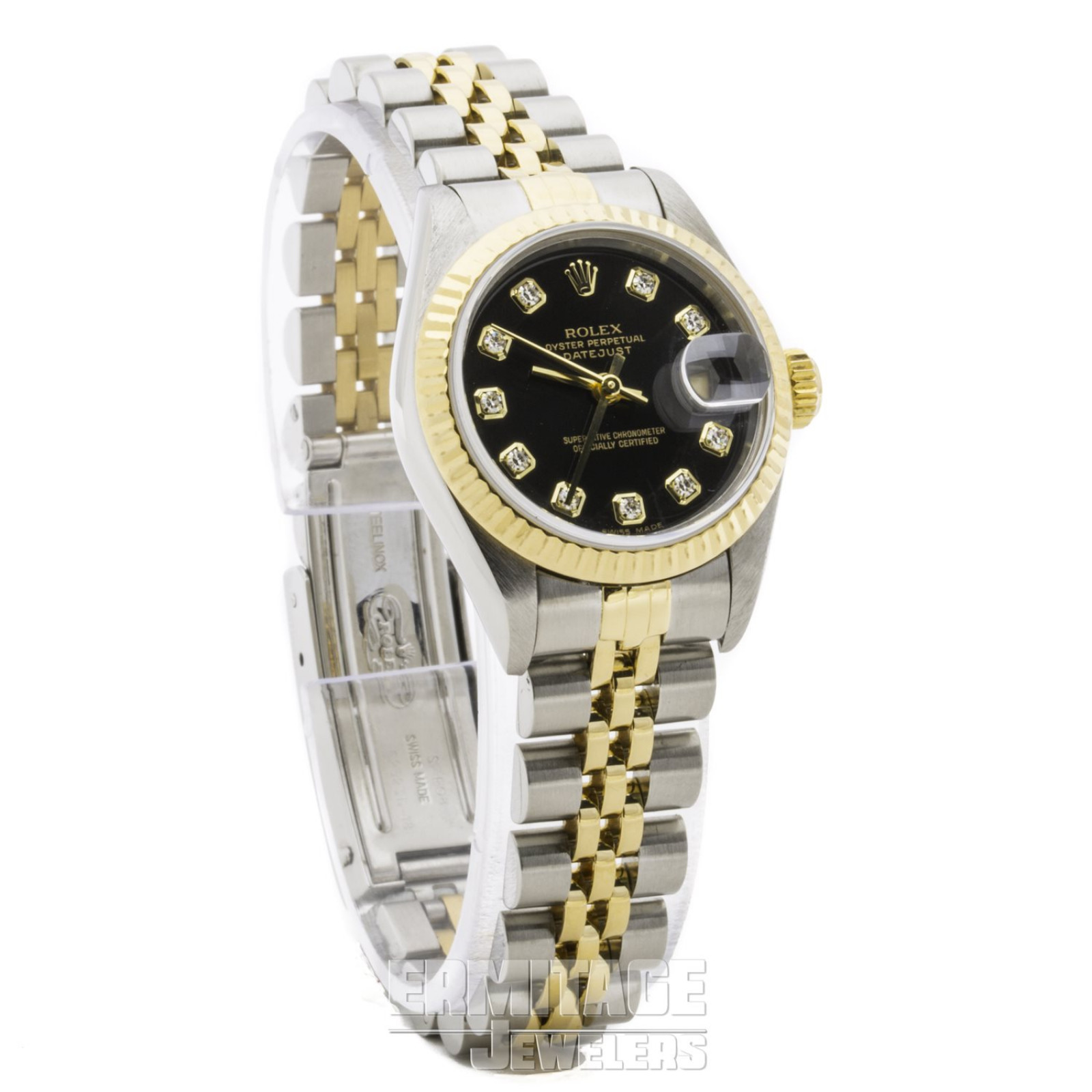 Yellow Gold Rolex Datejust 69173 26 mm