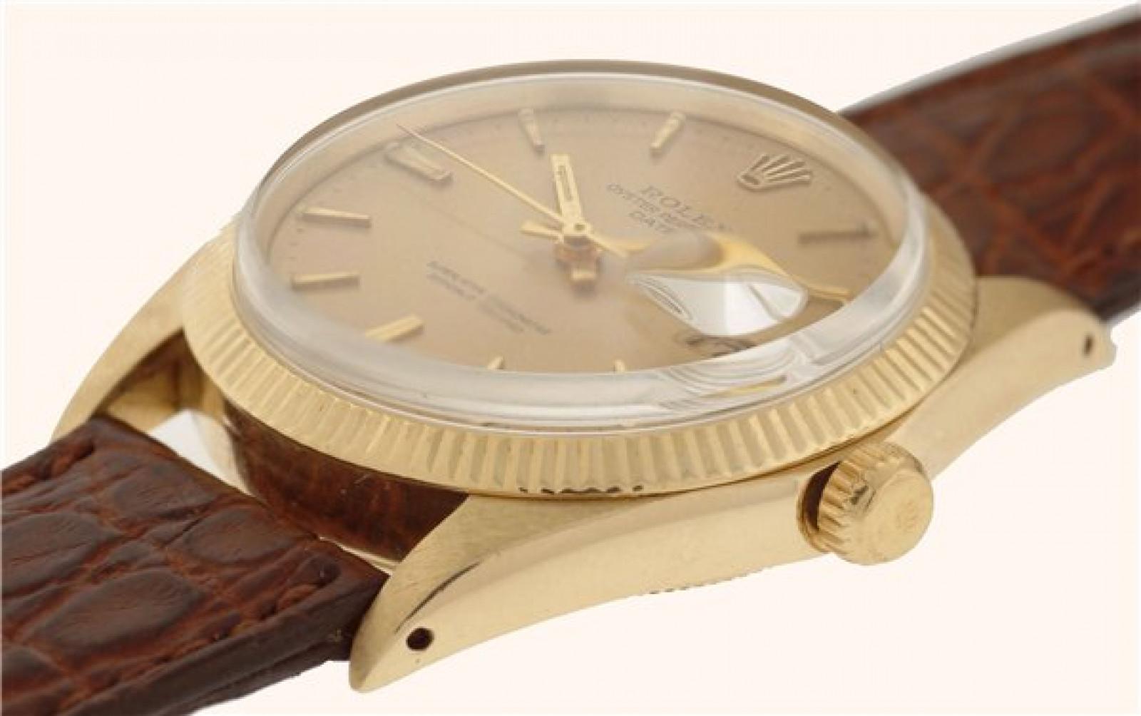 Vintage Rolex Date 1503 Gold Year 1967