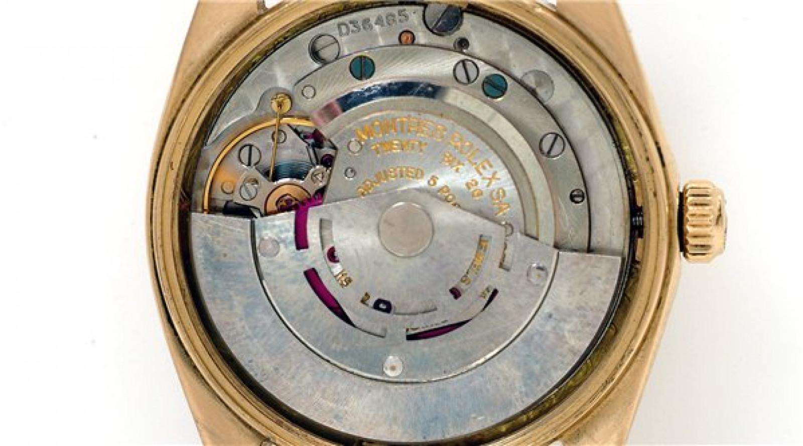 Vintage Rolex Date 1503 Gold Year 1952