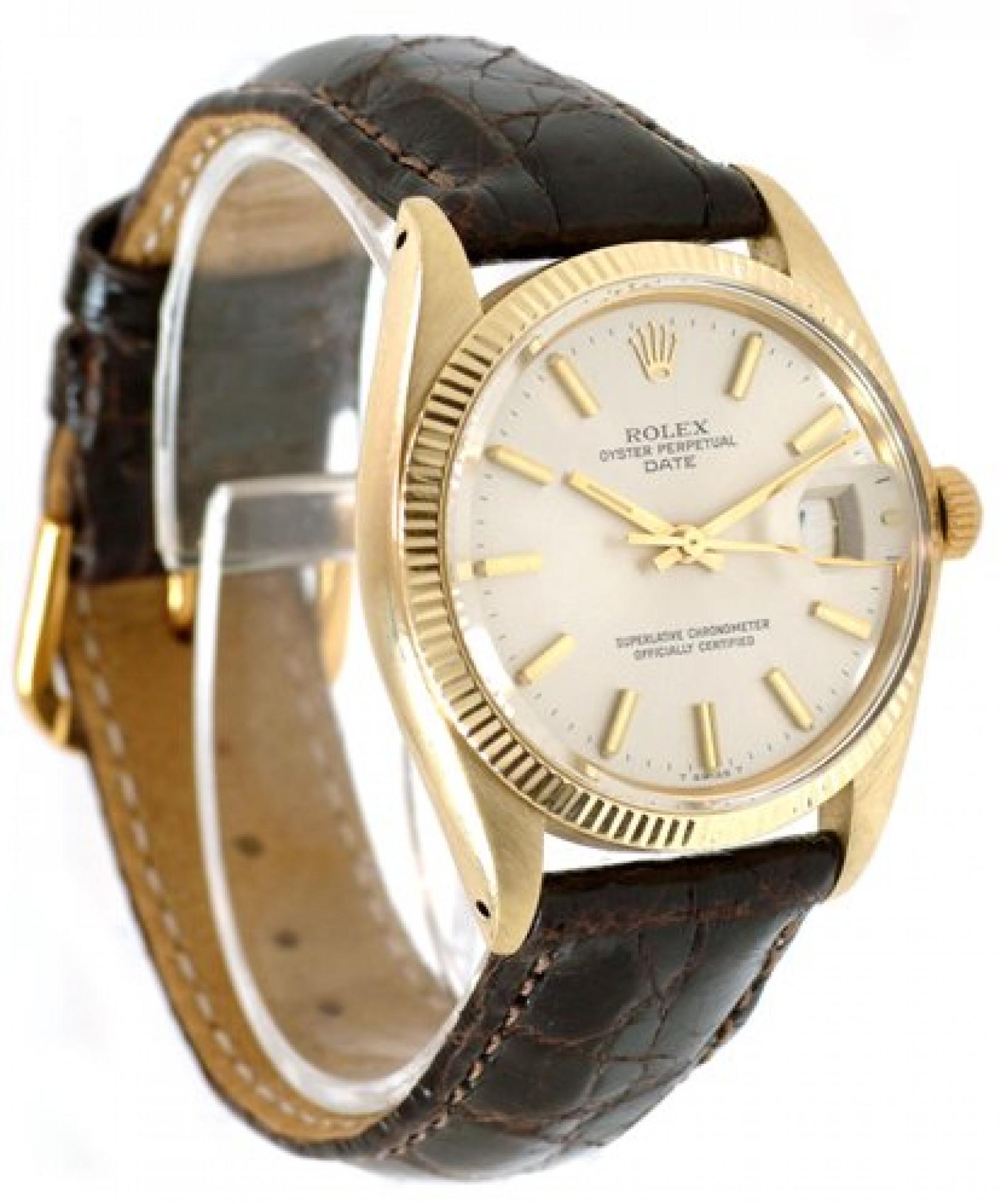 Vintage Rolex Date 1503 Year 1979 Gold Case