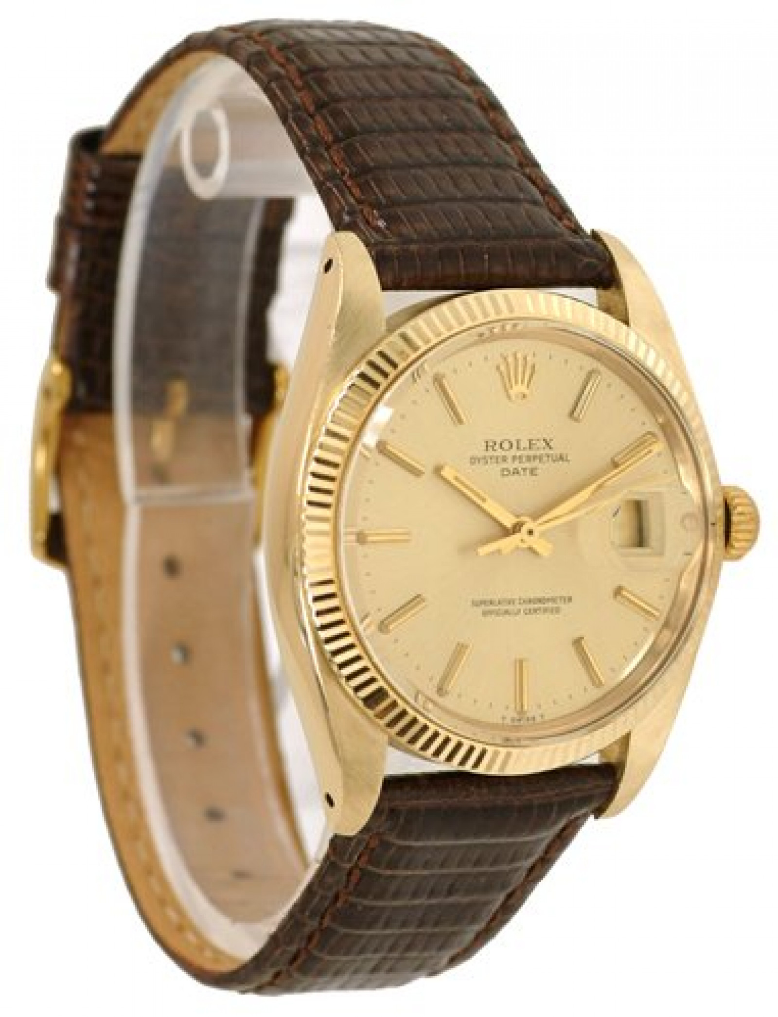 Vintage Rare Rolex Date 1503 Gold Year 1979